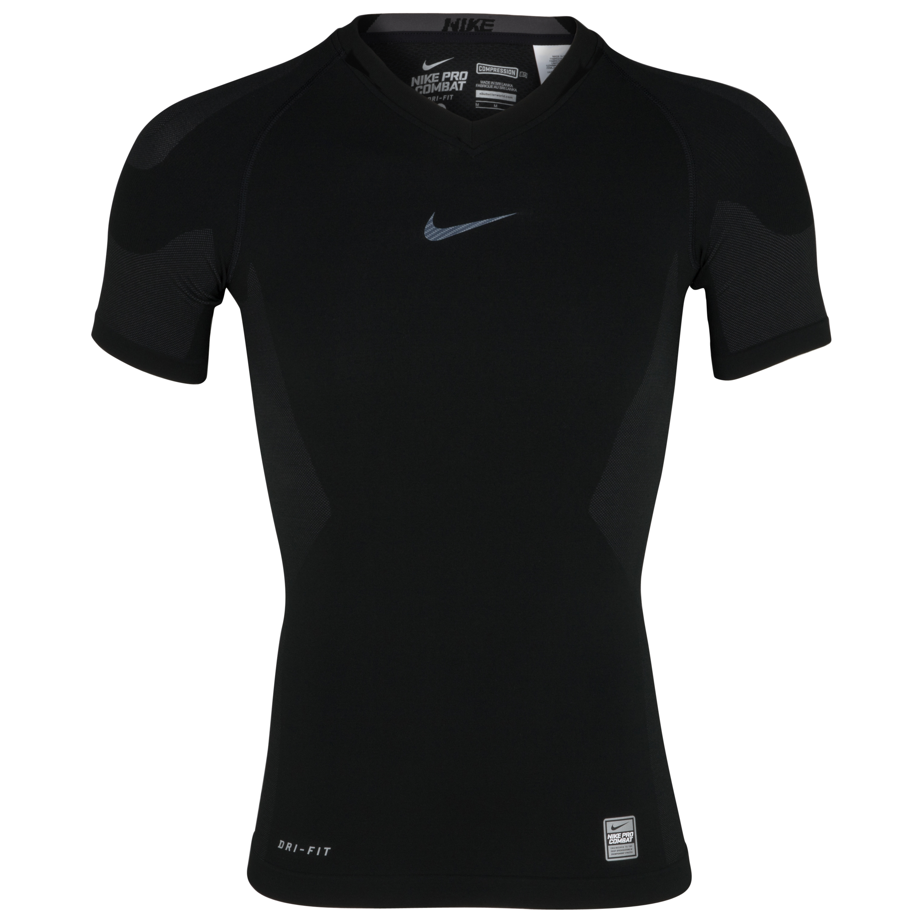 Nike Pro Combat Hypercool Top - Black