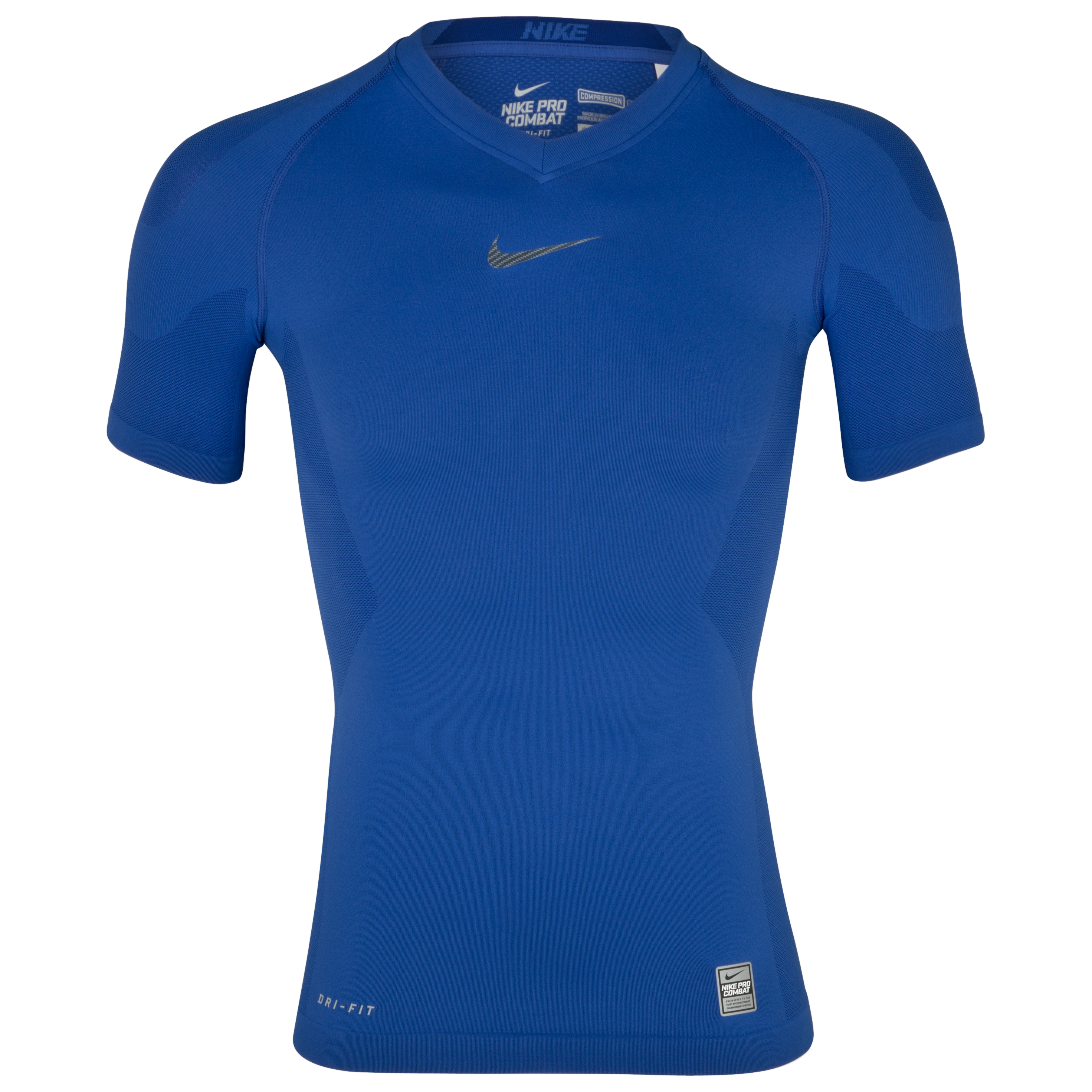 Nike Pro Combat Hypercool Vapor Top - Varsity Royal