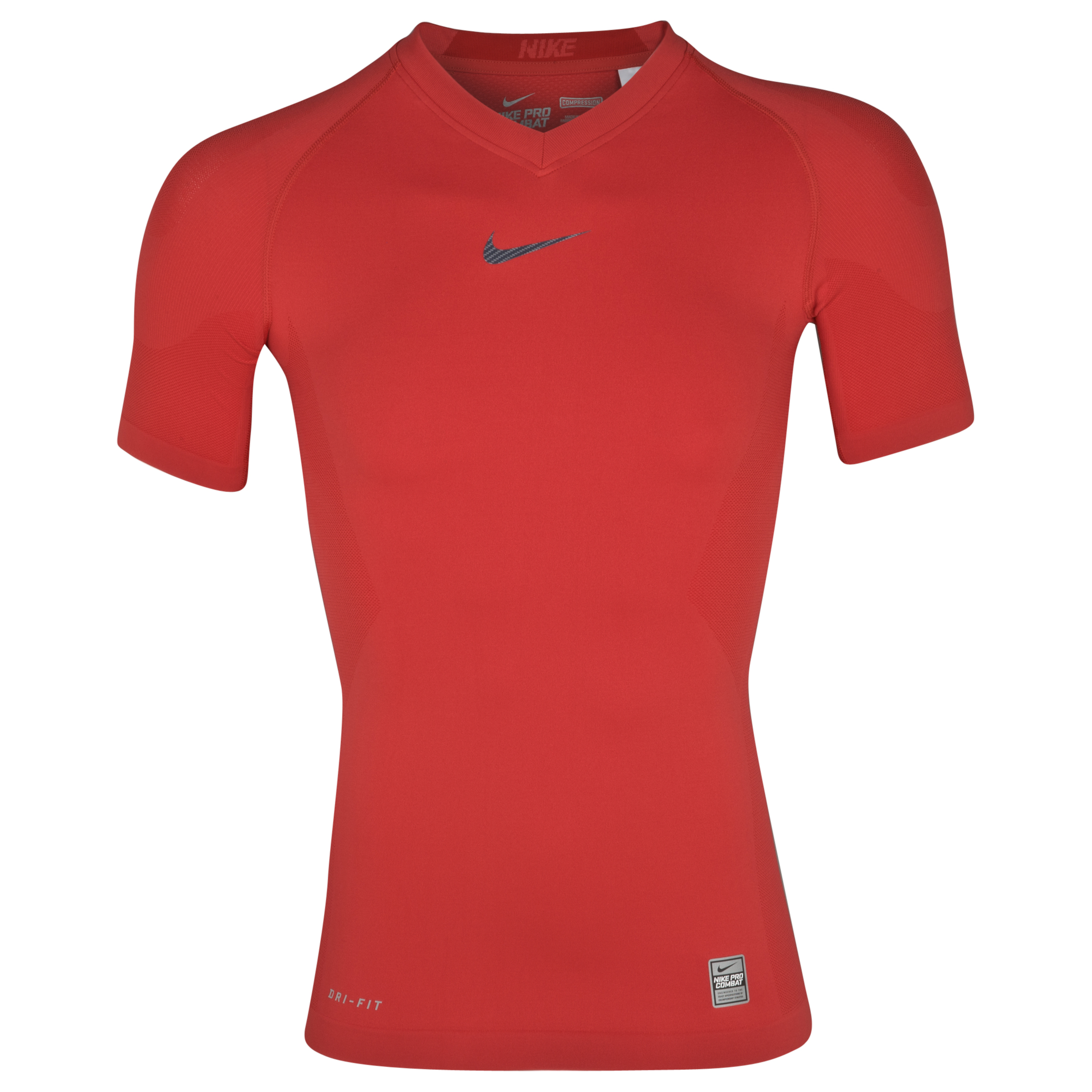 Nike Pro Combat Hypercool Vapor Top - Sport Red