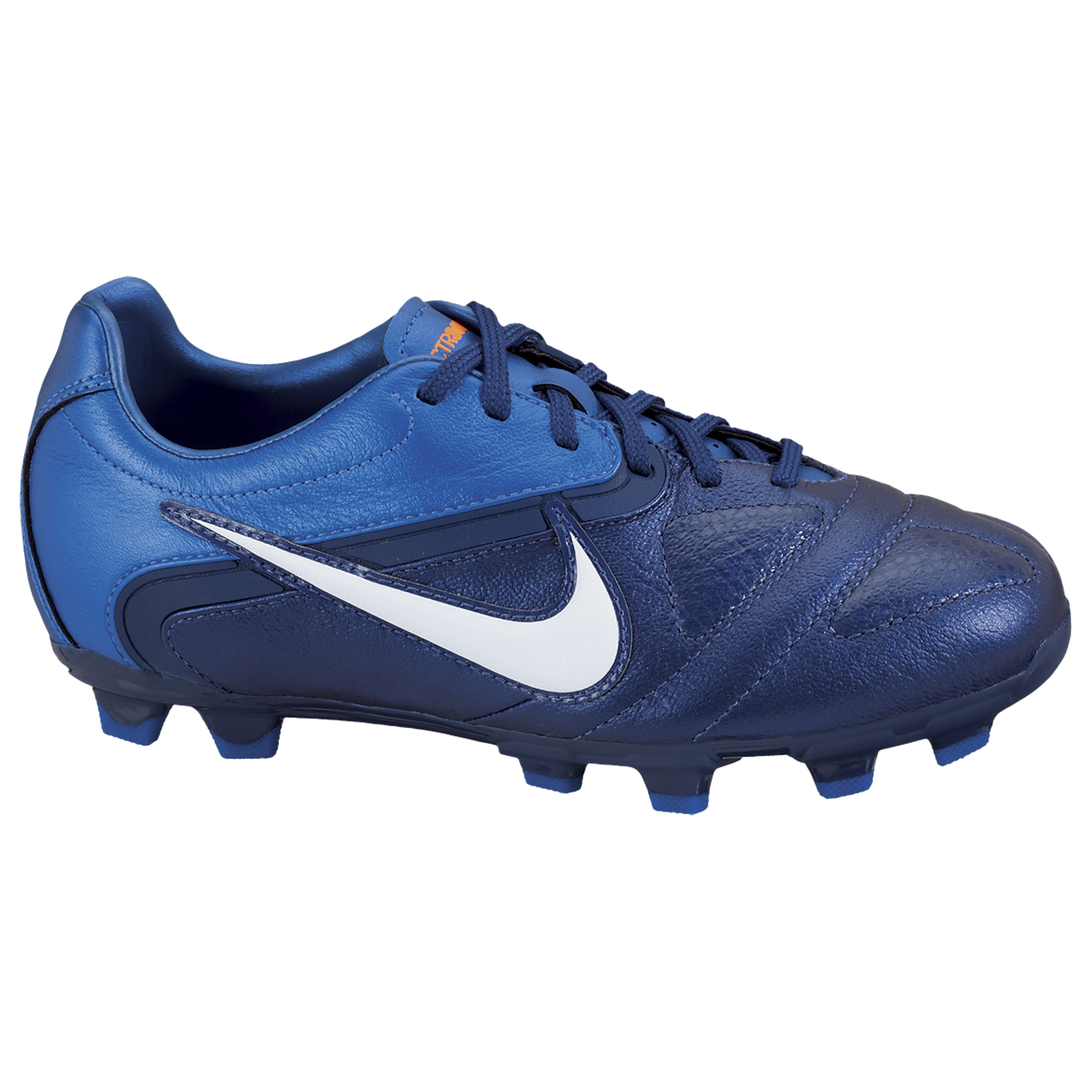 Nike CTR360 Libretto II Firm Ground Football Boots - Loyal Blue/White/Bright Blue/Total Orange - Kids
