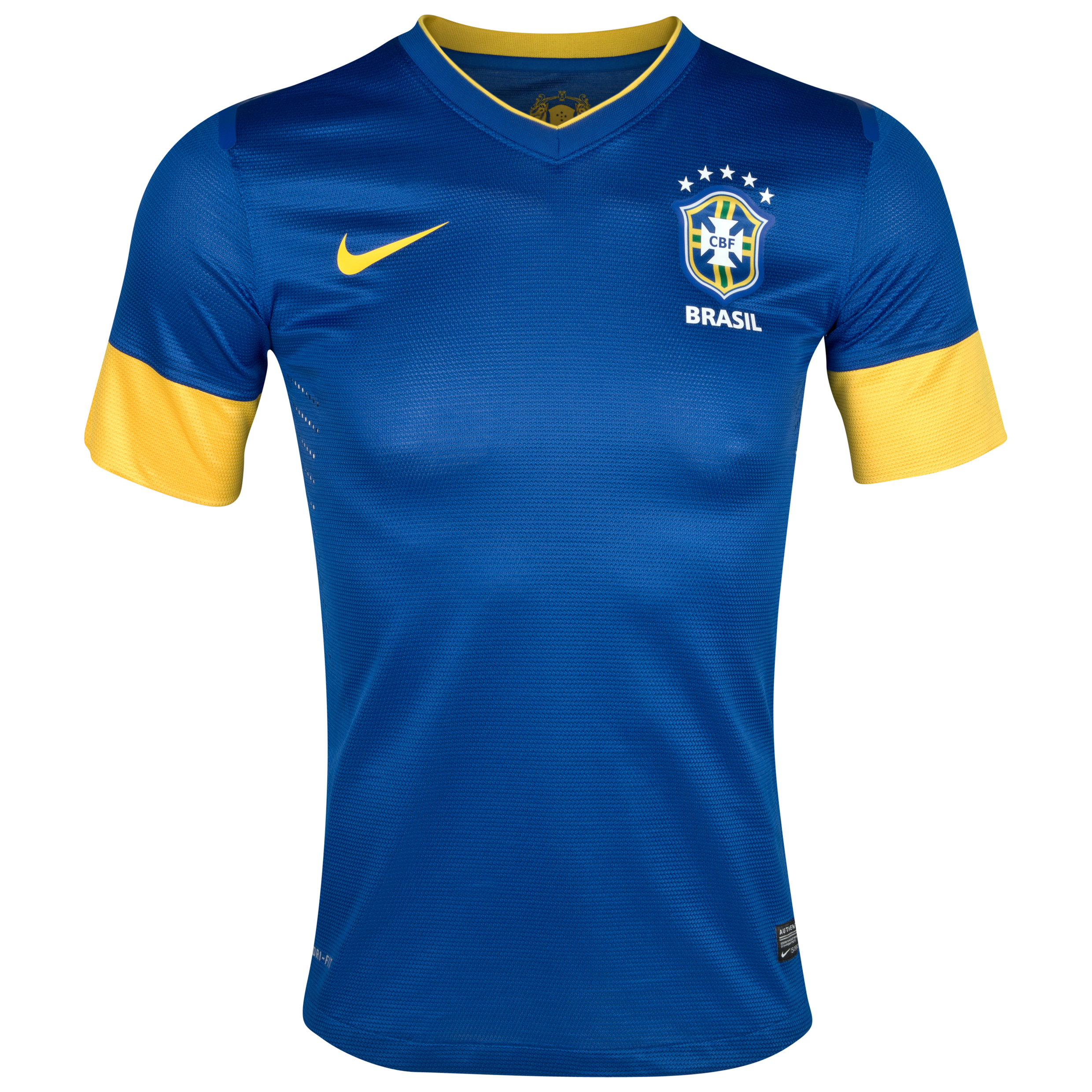 Brazil Authentic Away Shirt 2012/13