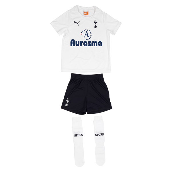 Tottenham Hotspur Home Mini Kit 2011/12 - Infants with Modric 14 printing
