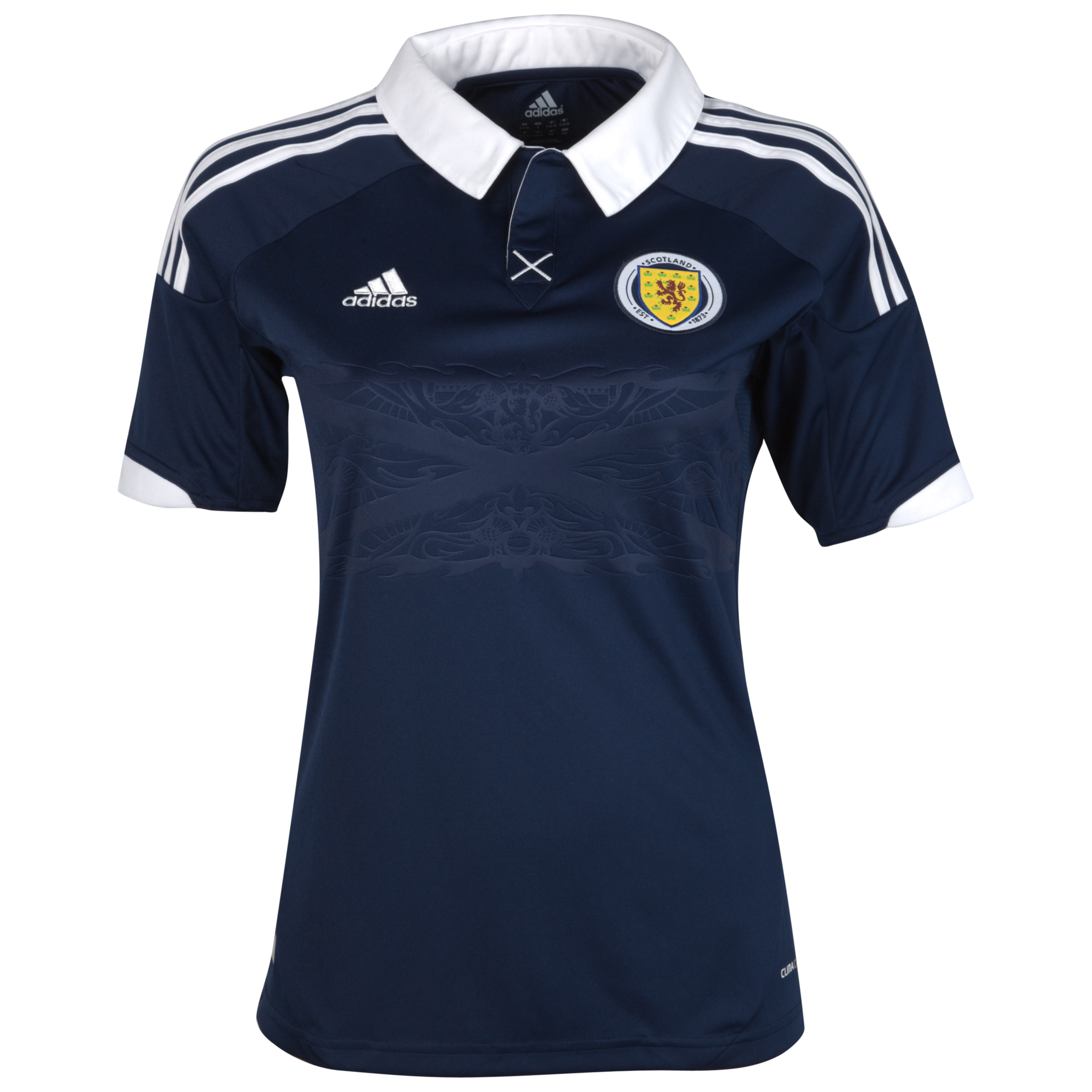 Scotland Home Shirt 2012/14 Womens Dark Indigo/White