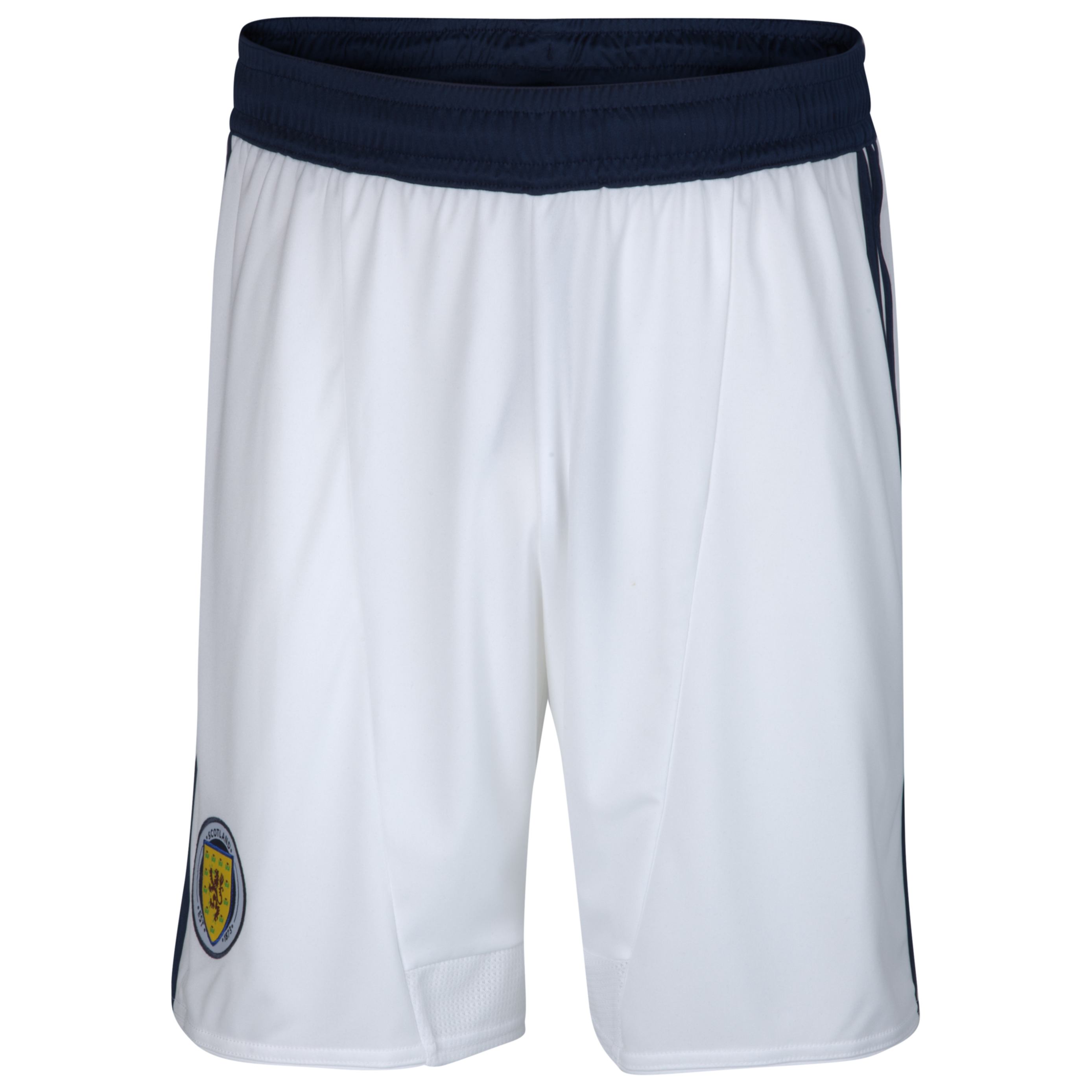 Scotland Home Short 2012/14 - Kids - White/Dark Indigo
