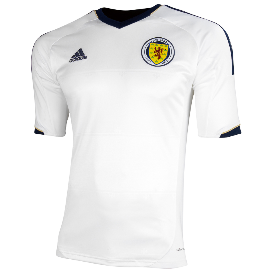 Scotland Away Shirt 2012/14