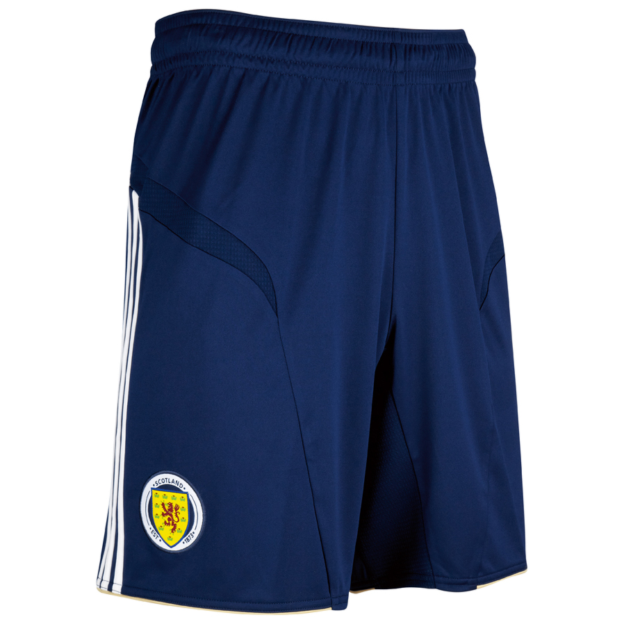 Scotland Away Short 2012/14 - Dark Indigo/White/Light Football Gold