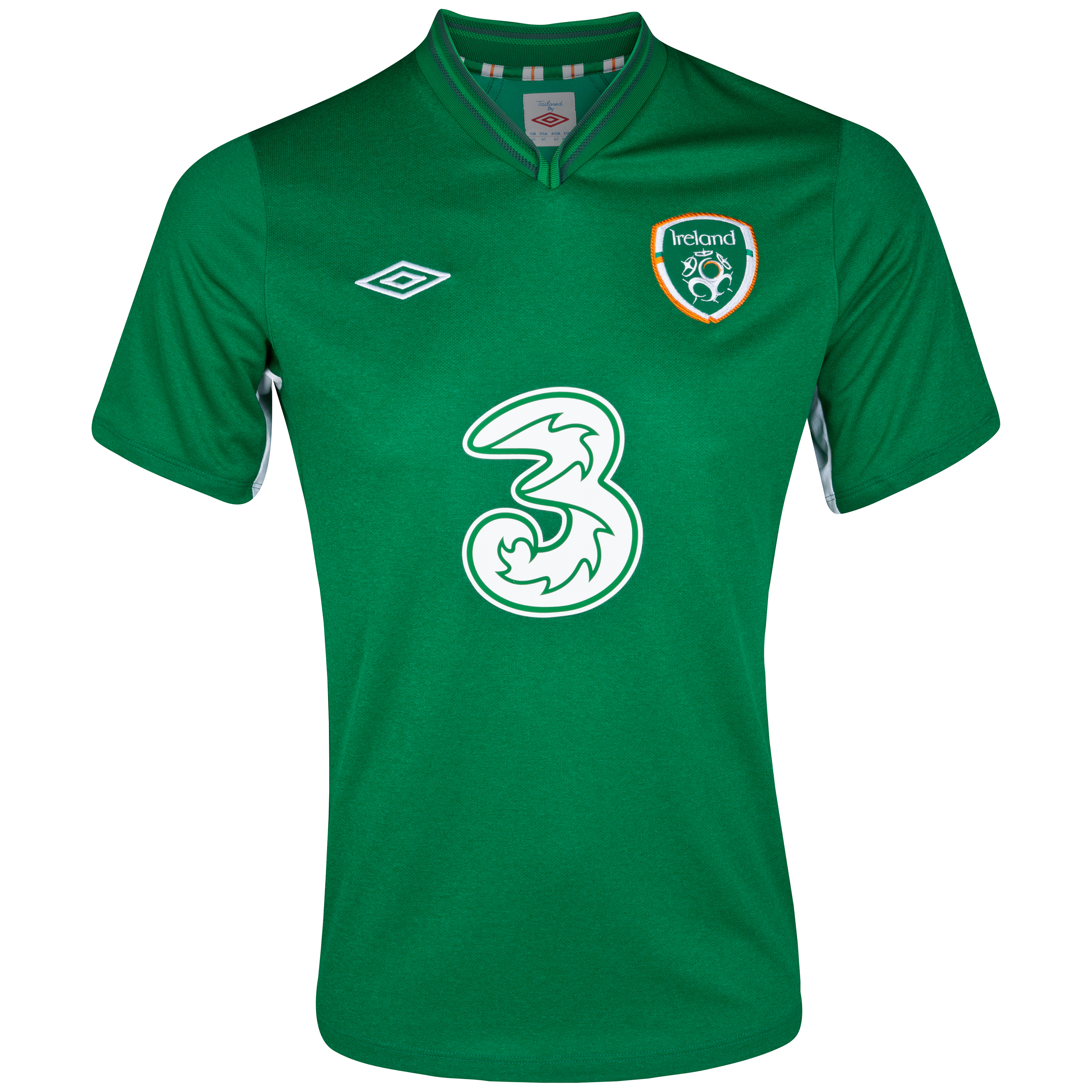 Republic Of Ireland Home Shirt 2012/13