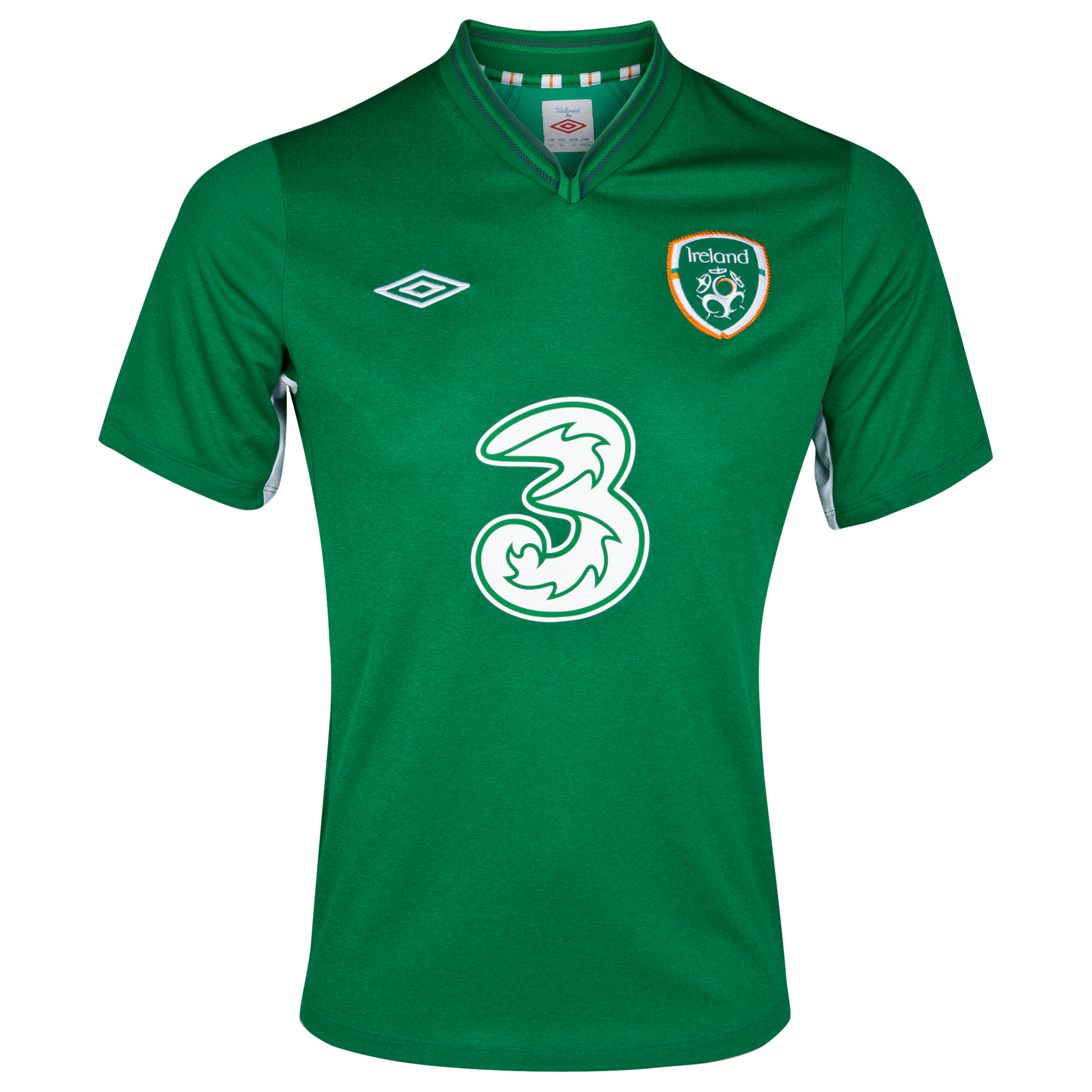 Republic Of Ireland Home Shirt 2012/13 - Boys