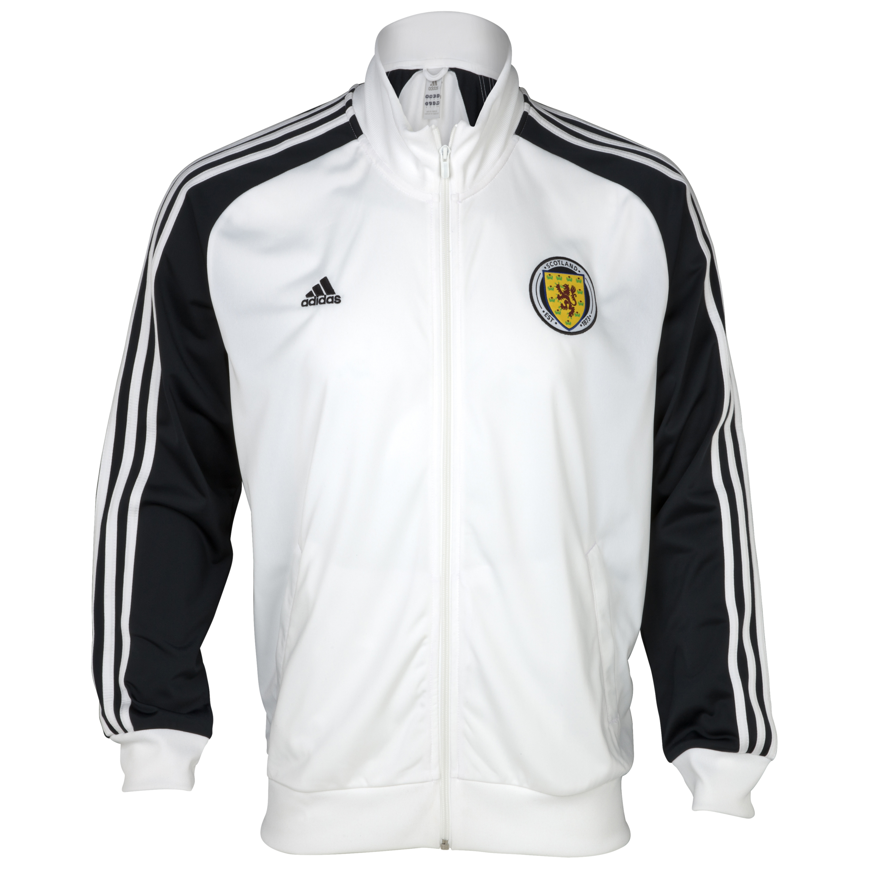 Scotland Core Track Top - White/Punjab