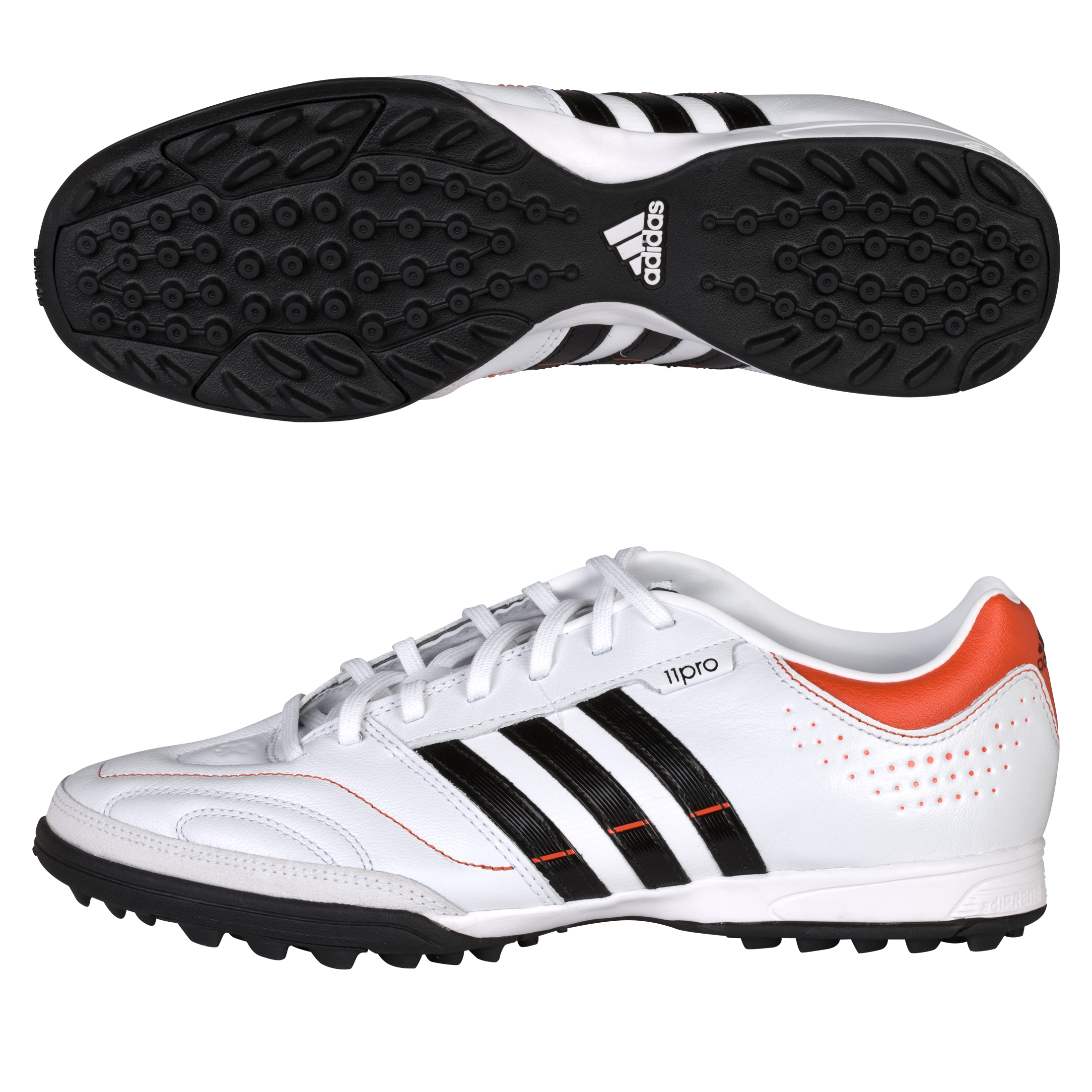 adidas 11Nova TRX Astro Turf Trainers - Running White/Black 1/High Energy S12