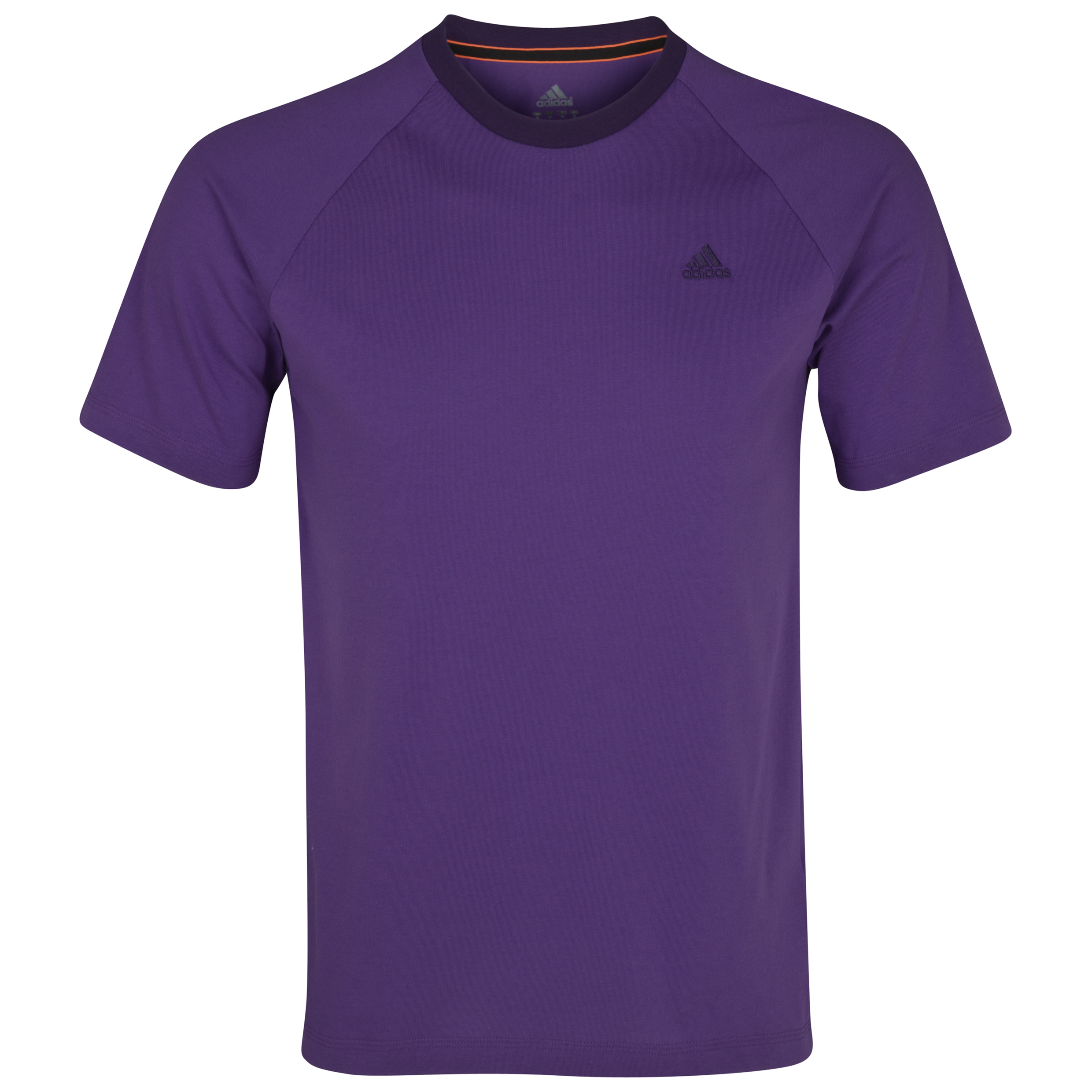 Adidas Essentials Crew T-Shirt - Sharp Purple F11