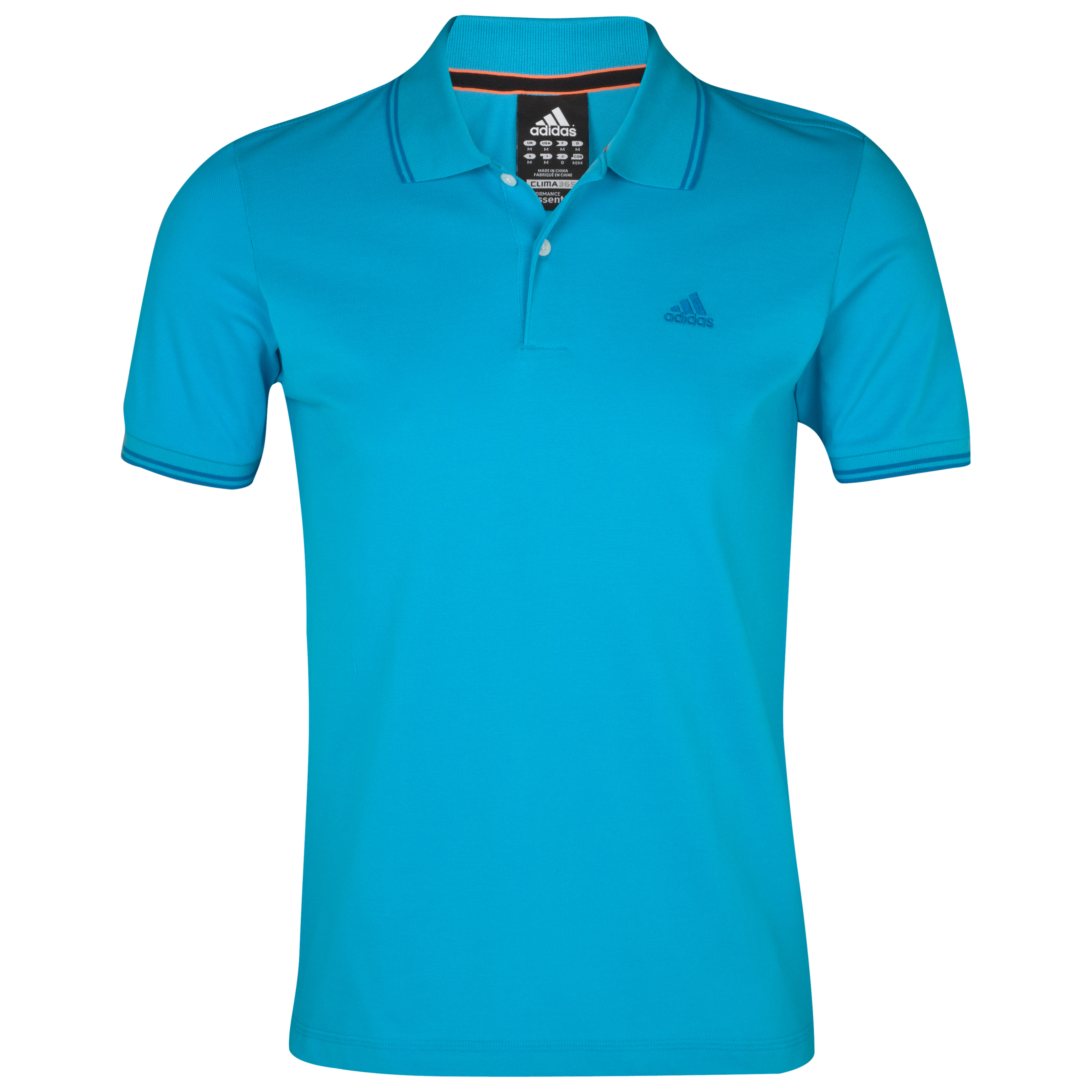 Adidas Essentials Polo - Super Cyan S12