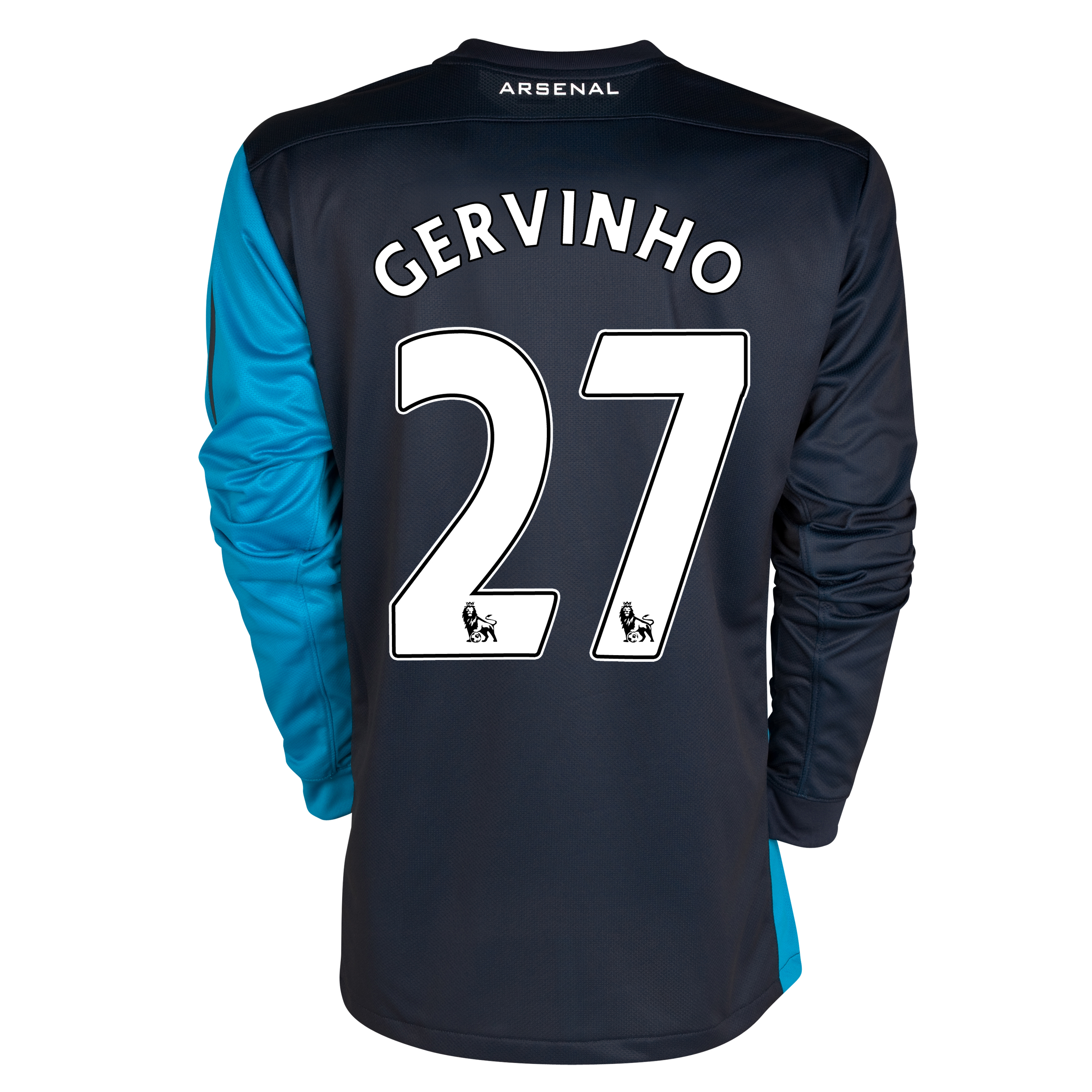 Arsenal Away Shirt 2011/12 - Long Sleeved - Kids with Gervinho 27 printing