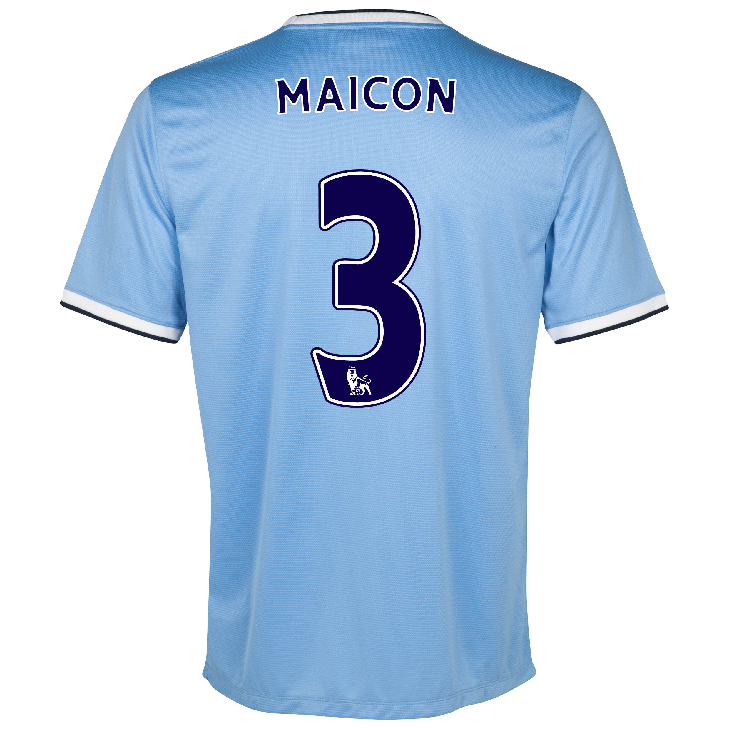 Manchester City Home Shirt 2013/14 with Maicon 3 printing