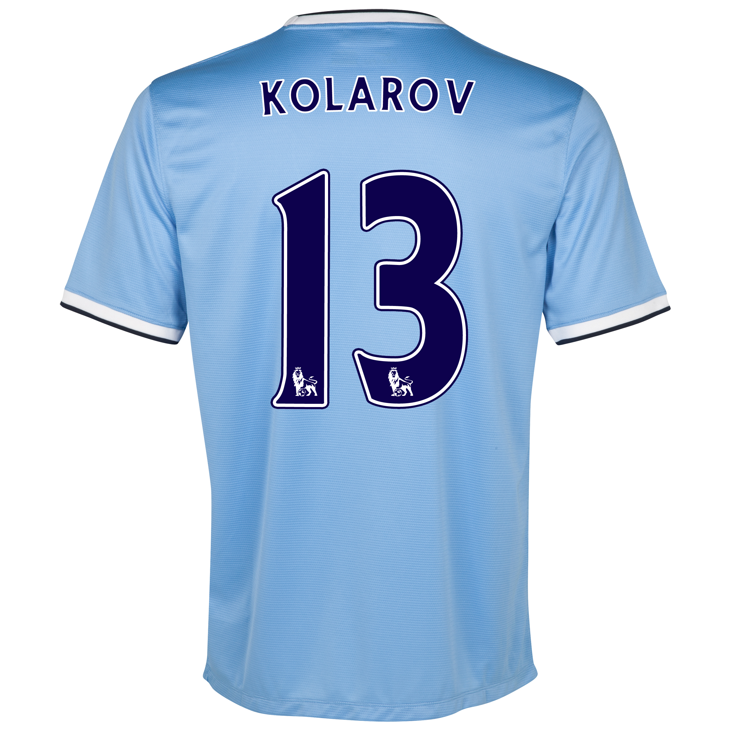 Manchester City Home Shirt 2013/14 - Womens with Kolarov 13 printing