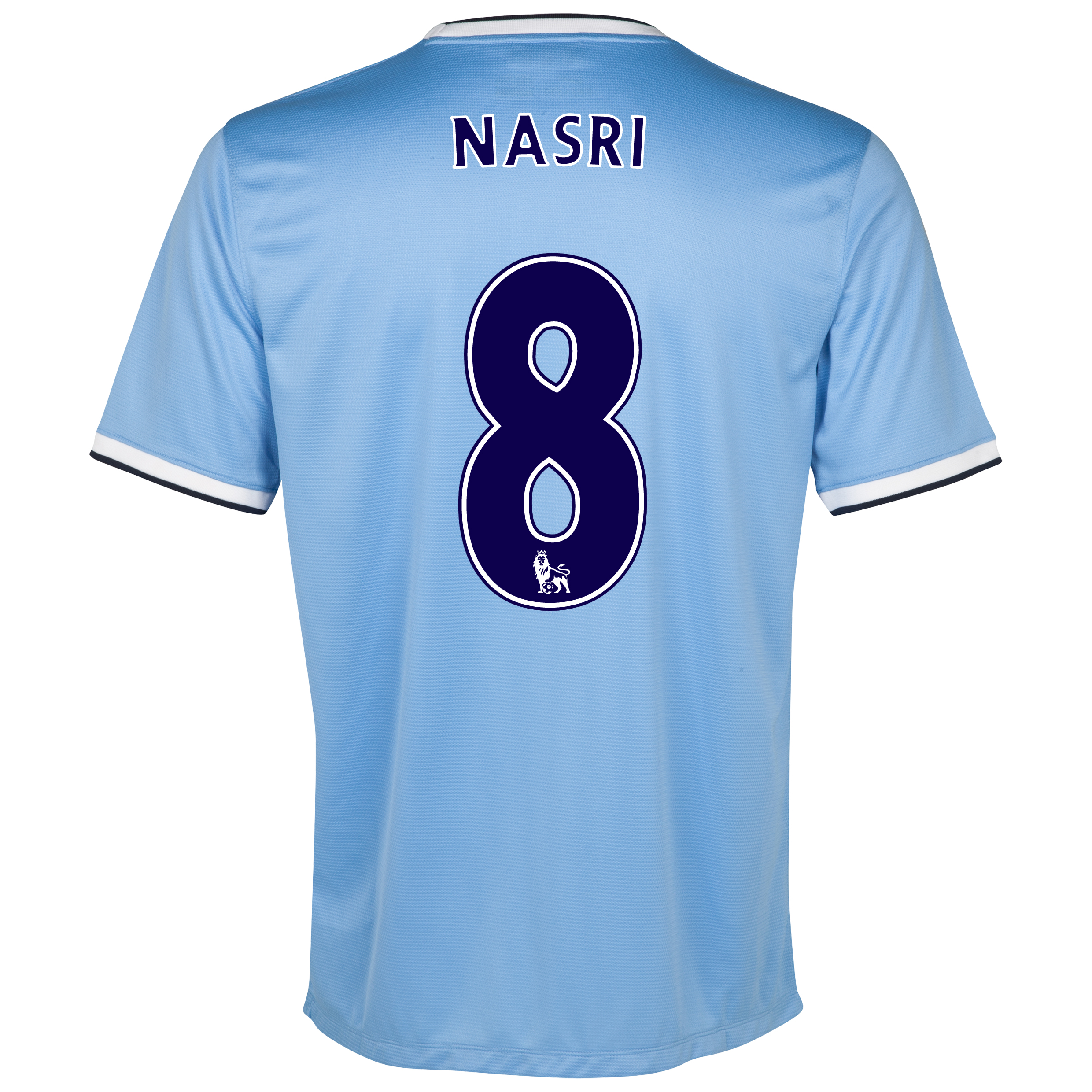 Manchester City Home Shirt 2013/14 - Junior with Nasri 8 printing