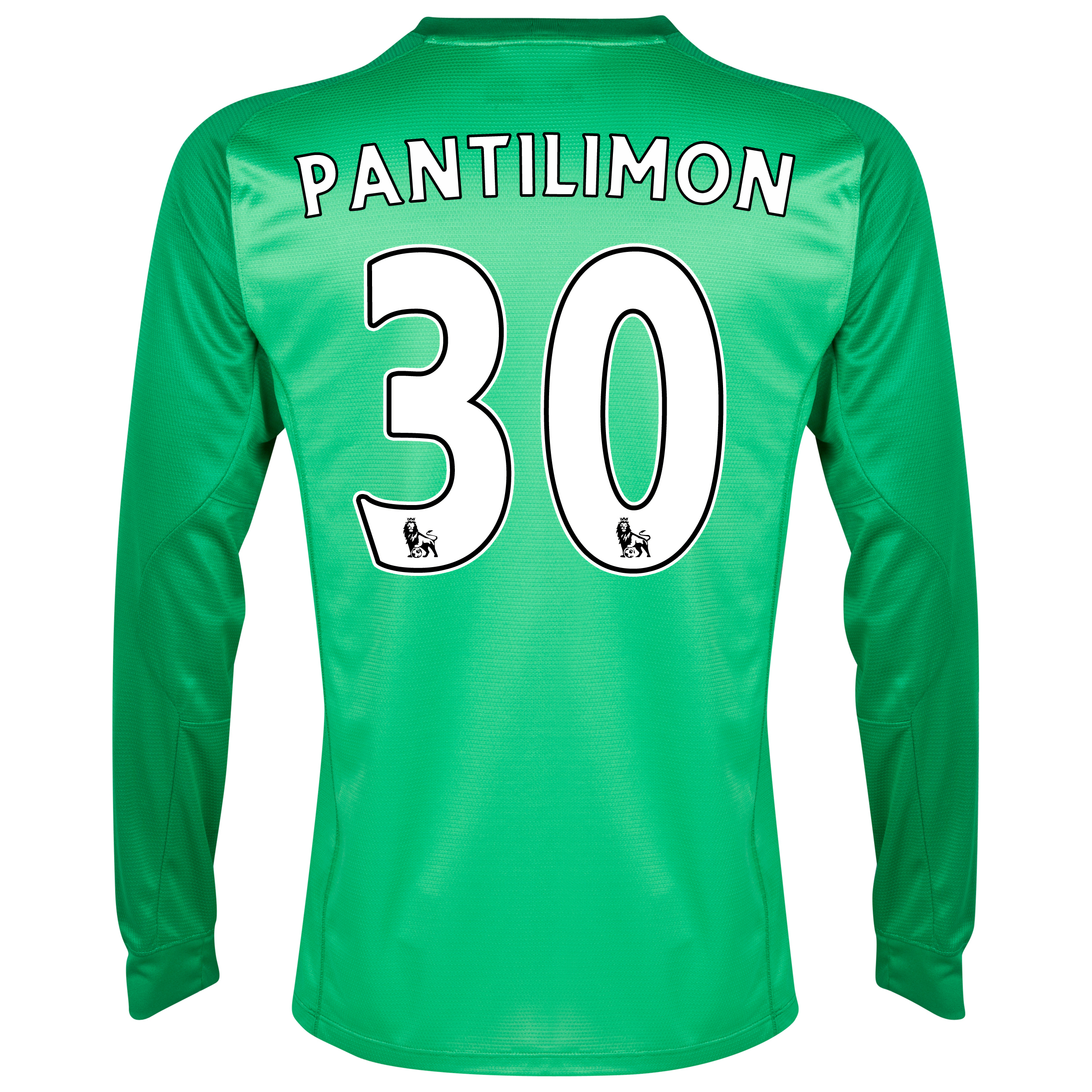 Manchester City Option 1 Goalkeeper Shirt 2013/14 - Junior - Green with Pantilimon 30 printing