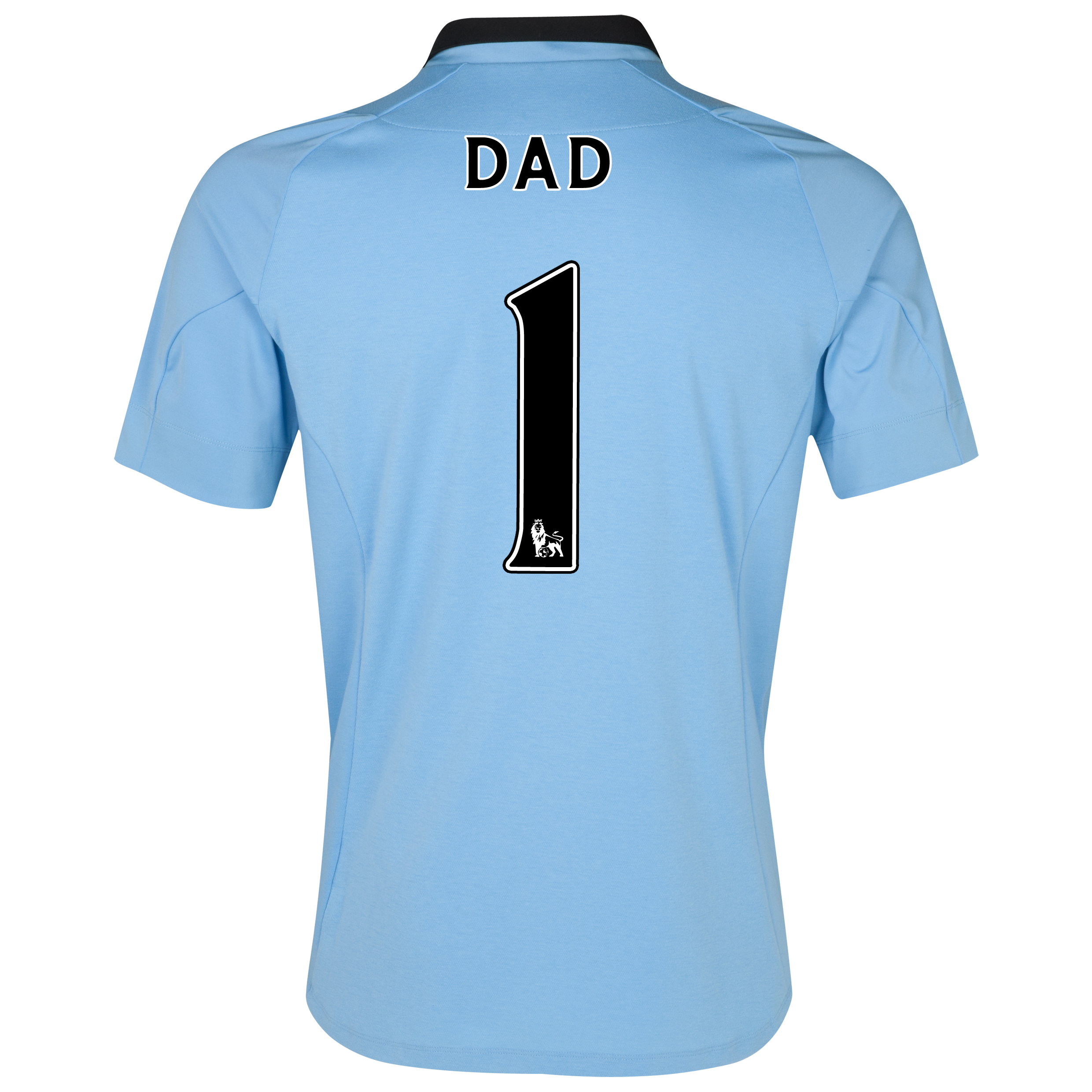 Manchester City Home Shirt 2012/13 with Dad 1 printing