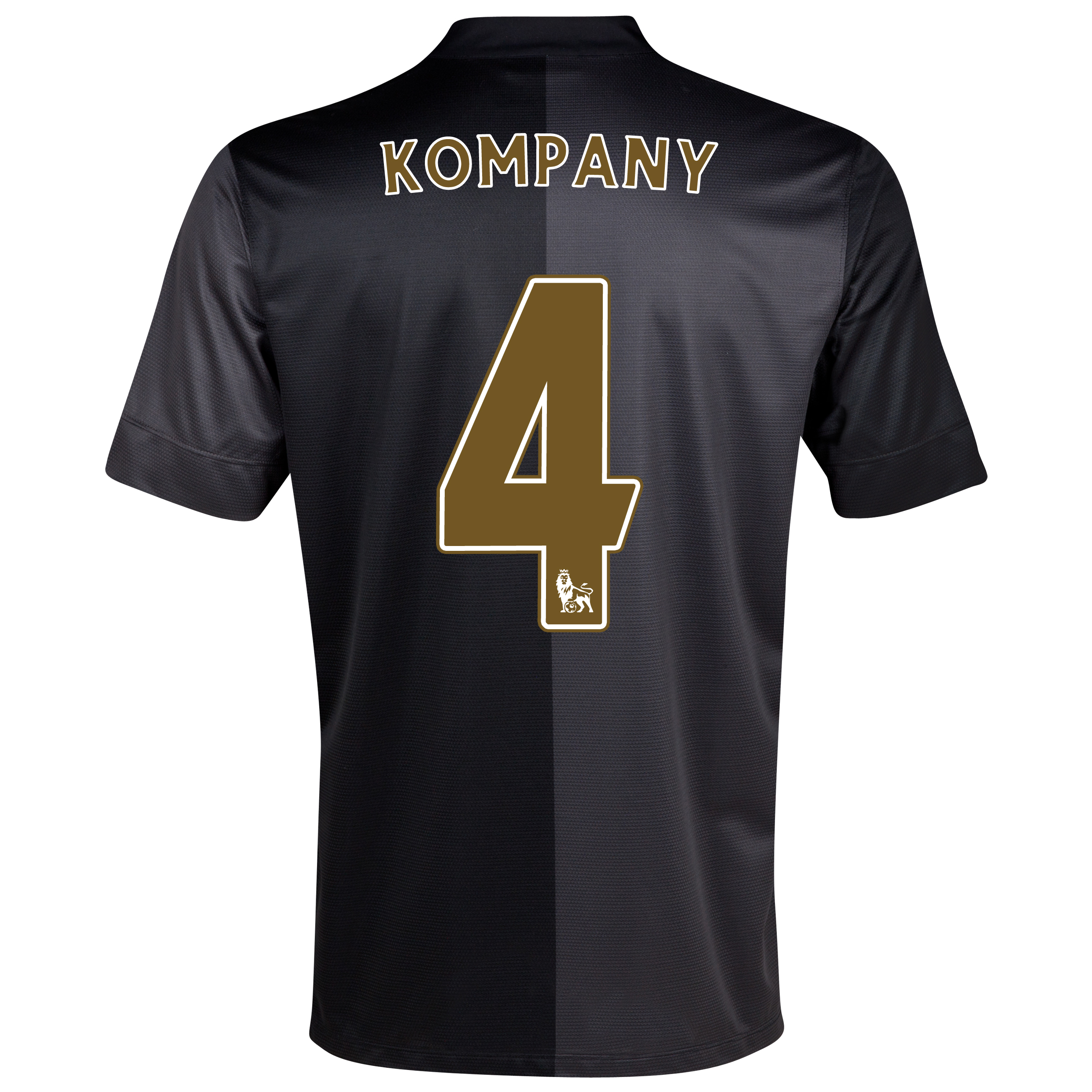 Manchester City Away Shirt 2013/14 with Kompany 4 printing