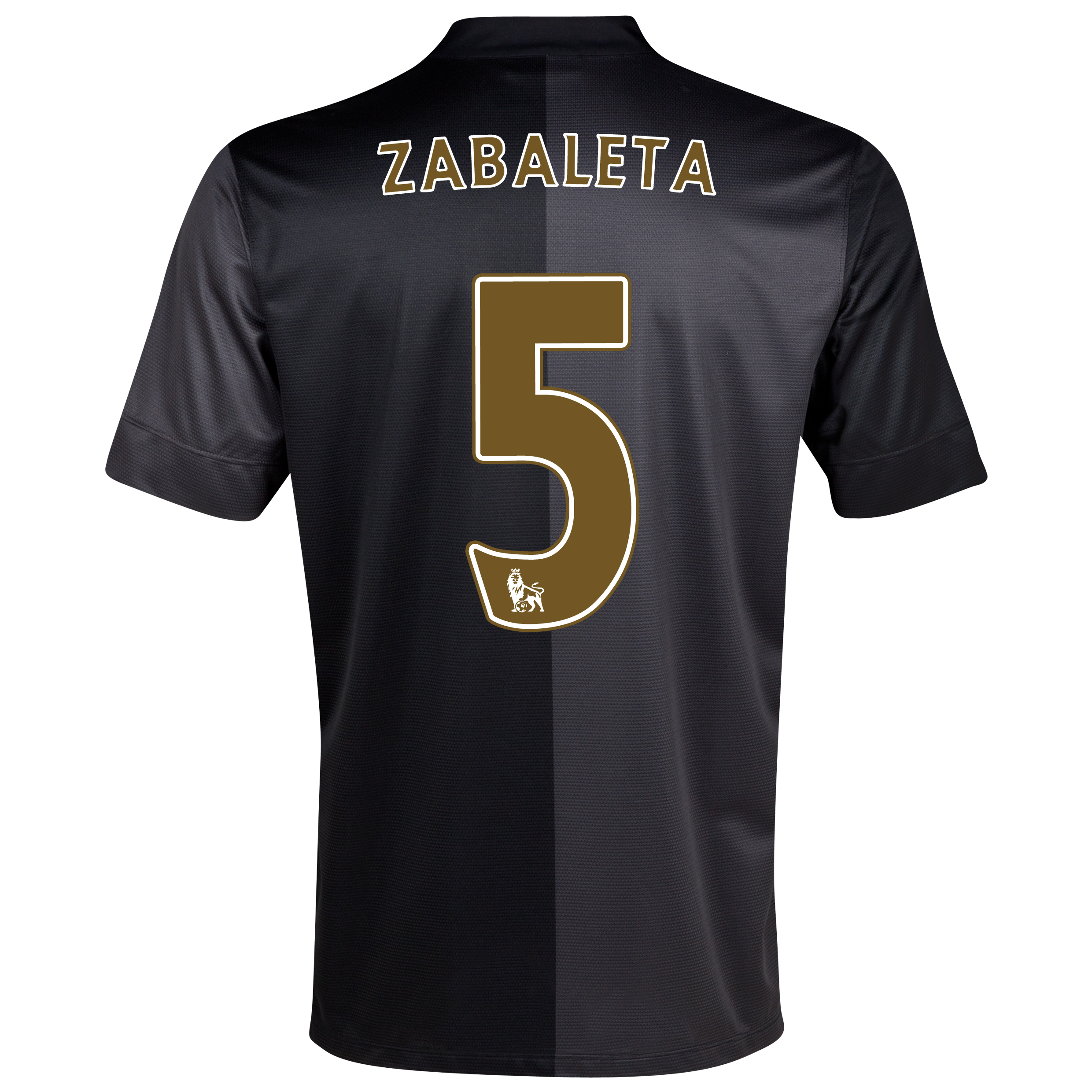 Manchester City Away Shirt 2013/14 with Zabaleta 5 printing