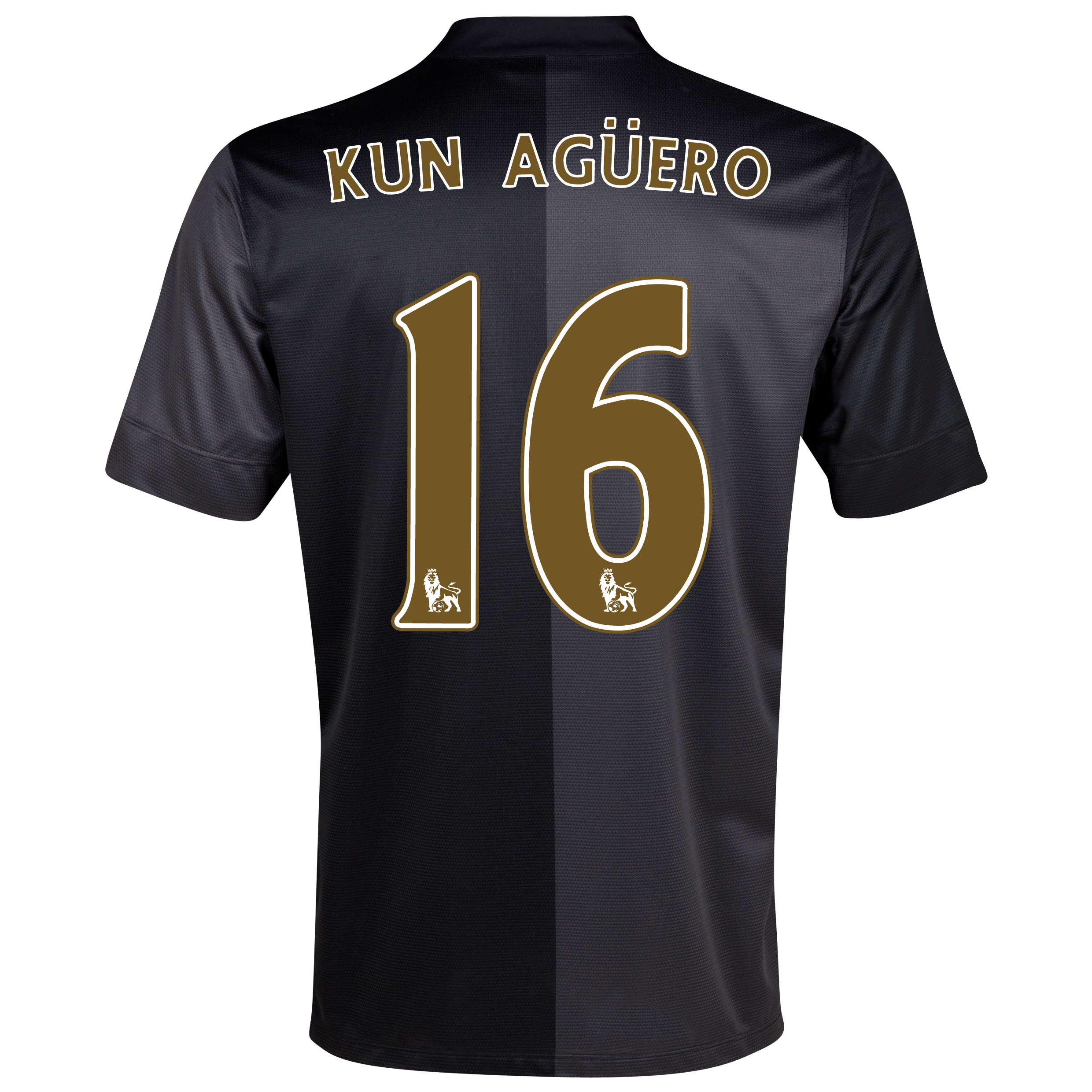 Manchester City Away Shirt 2013/14 with Kun Agüero  16 printing