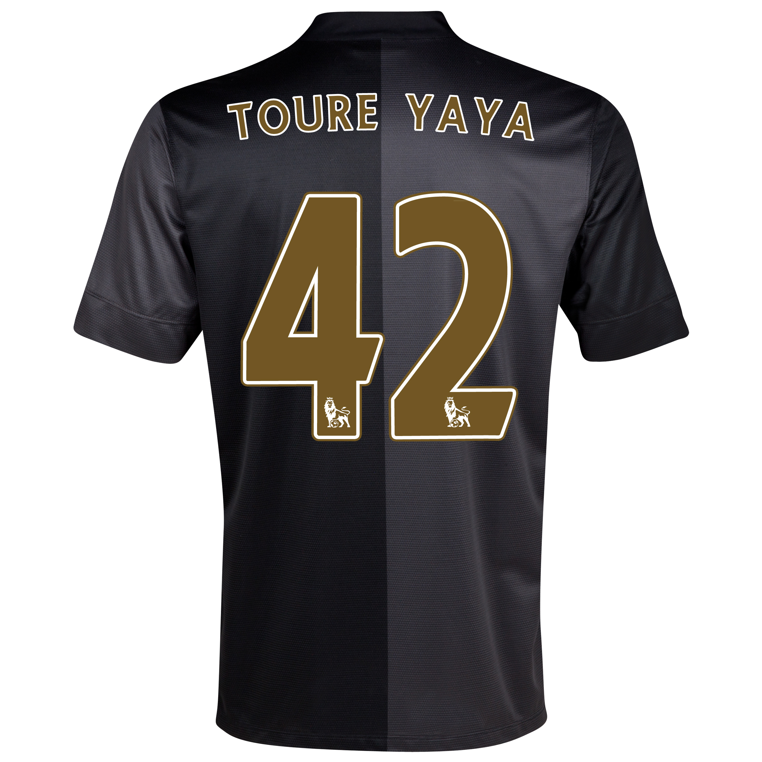 Manchester City Away Shirt 2013/14 with Toure Yaya 42 printing