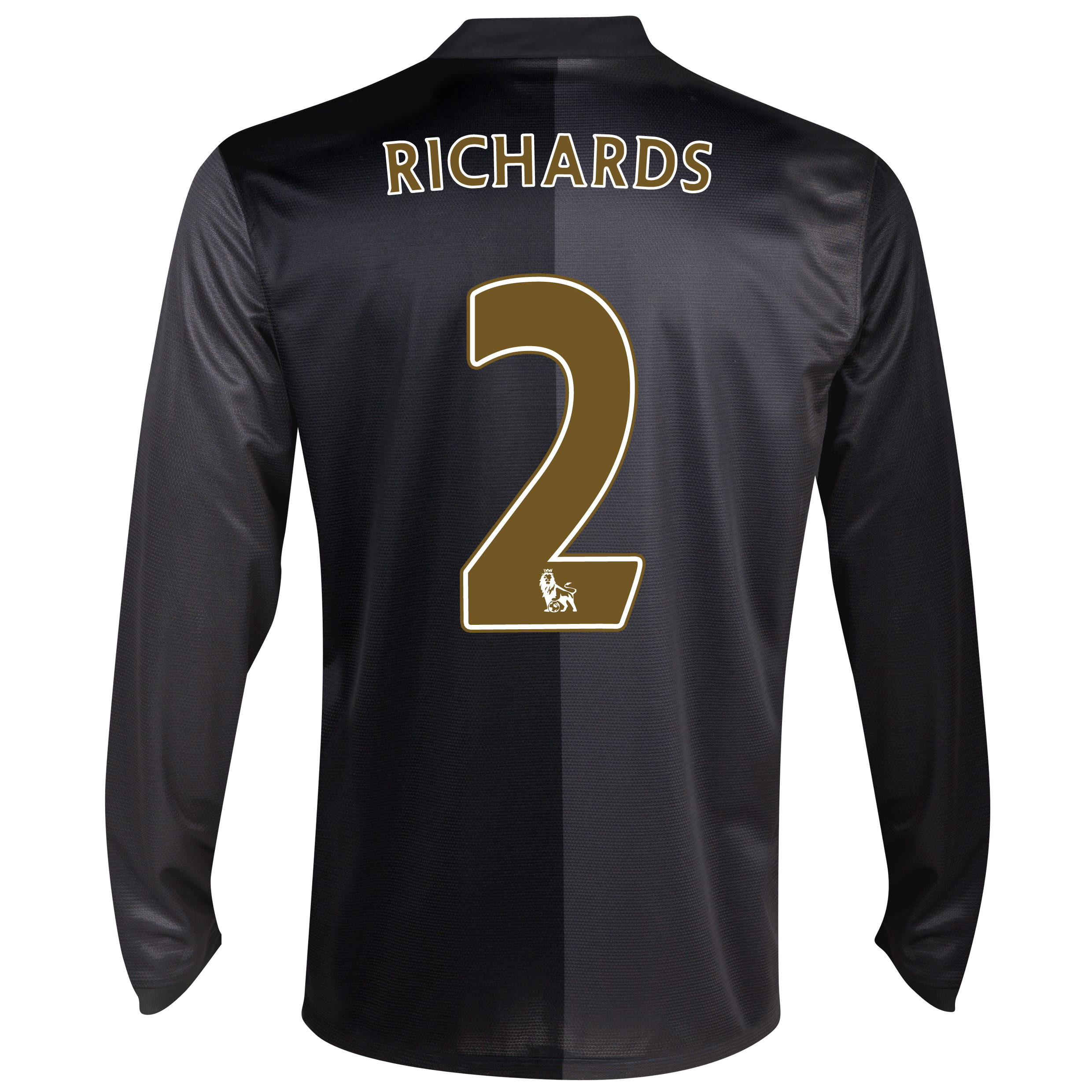 Manchester City Away Shirt 2013/14 - Long Sleeved with Richards 2 printing