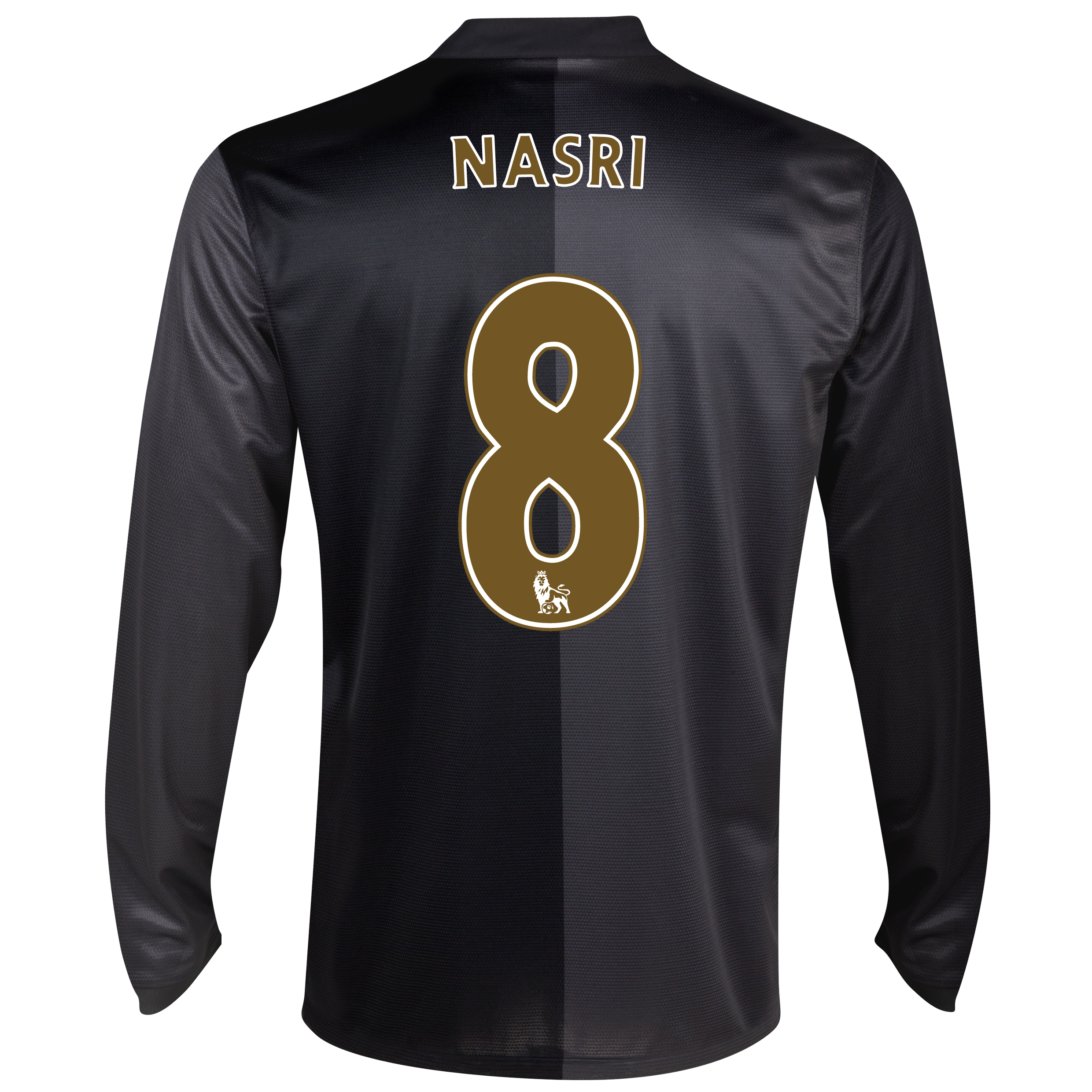 Manchester City Away Shirt 2013/14 - Long Sleeved with Nasri 8 printing