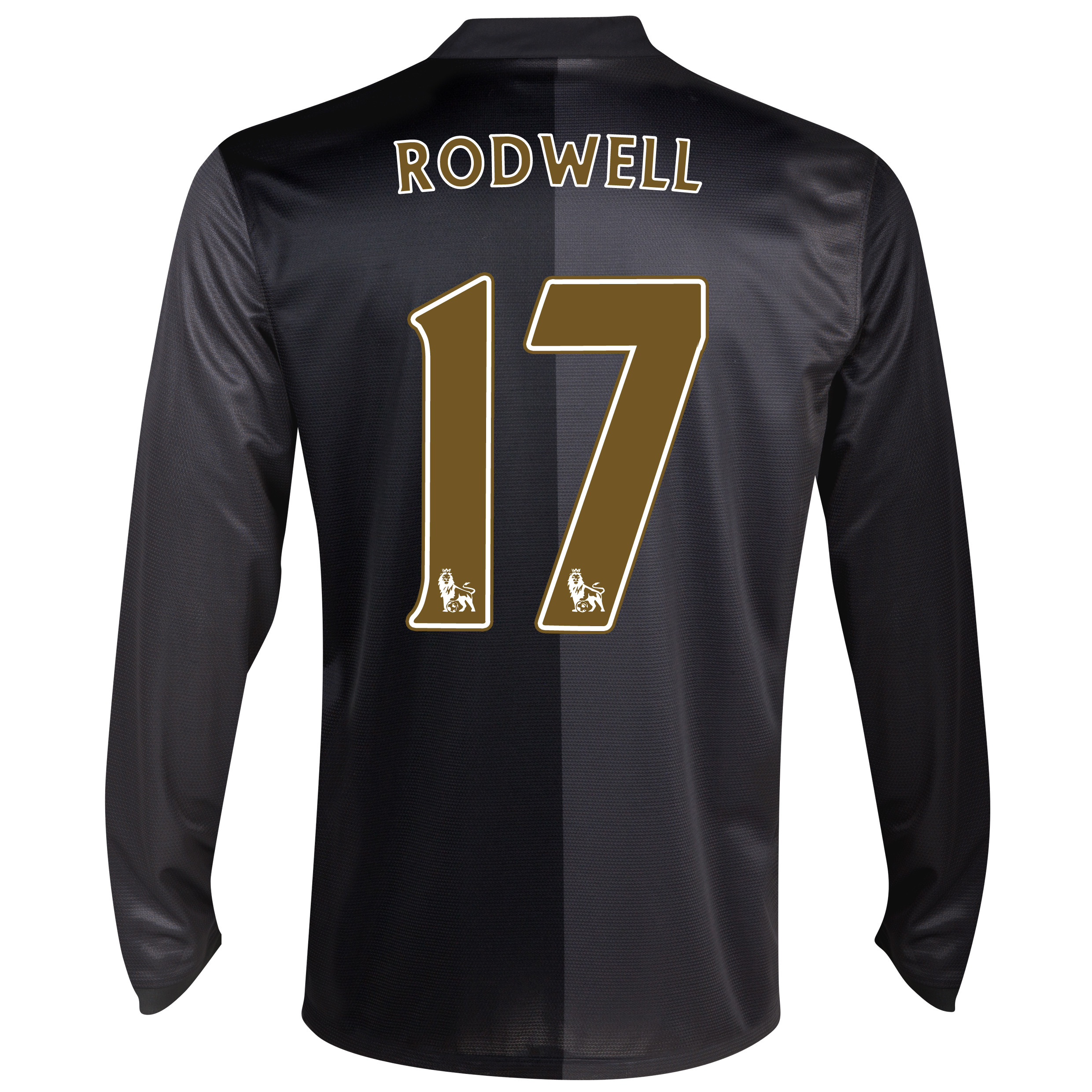 Manchester City Away Shirt 2013/14 - Long Sleeved with Rodwell 17 printing