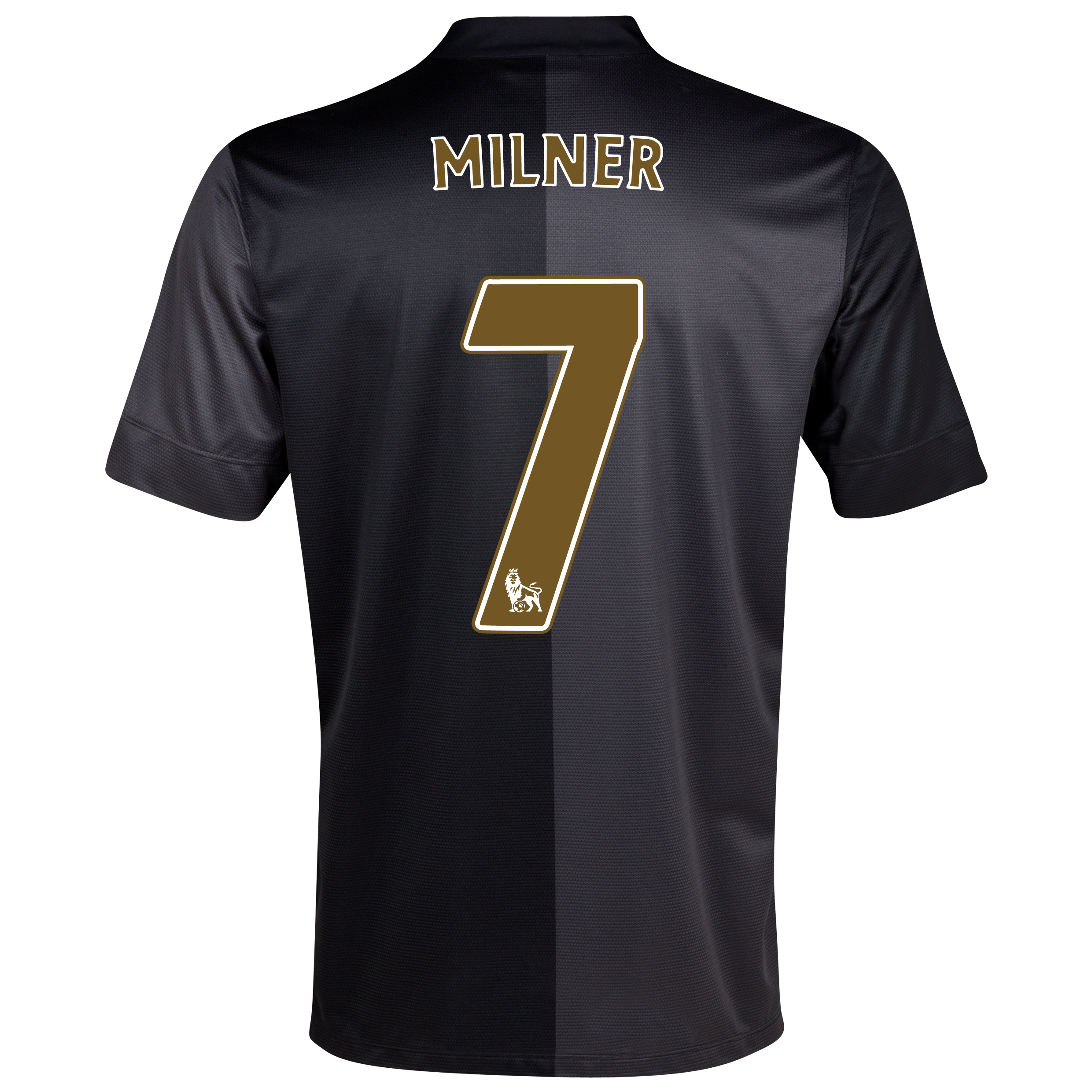 Manchester City Away Shirt 2013/14 - Junior with Milner 7 printing