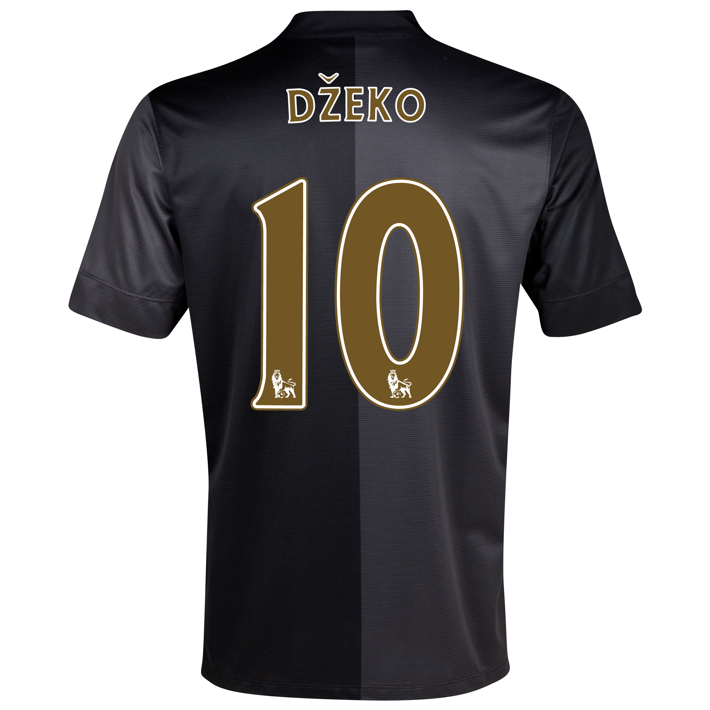 Manchester City Away Shirt 2013/14 - Junior with Dzeko 10 printing