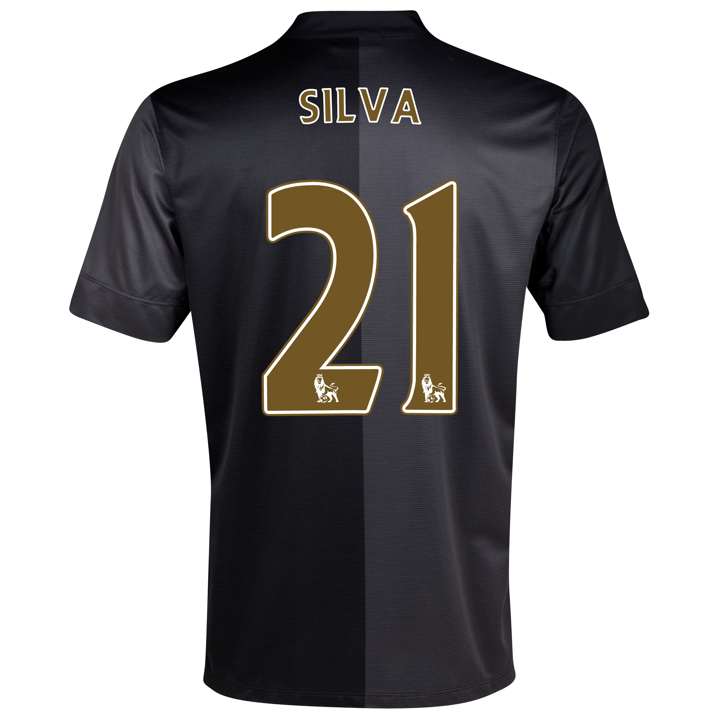 Manchester City Away Shirt 2013/14 - Junior with Silva 21 printing