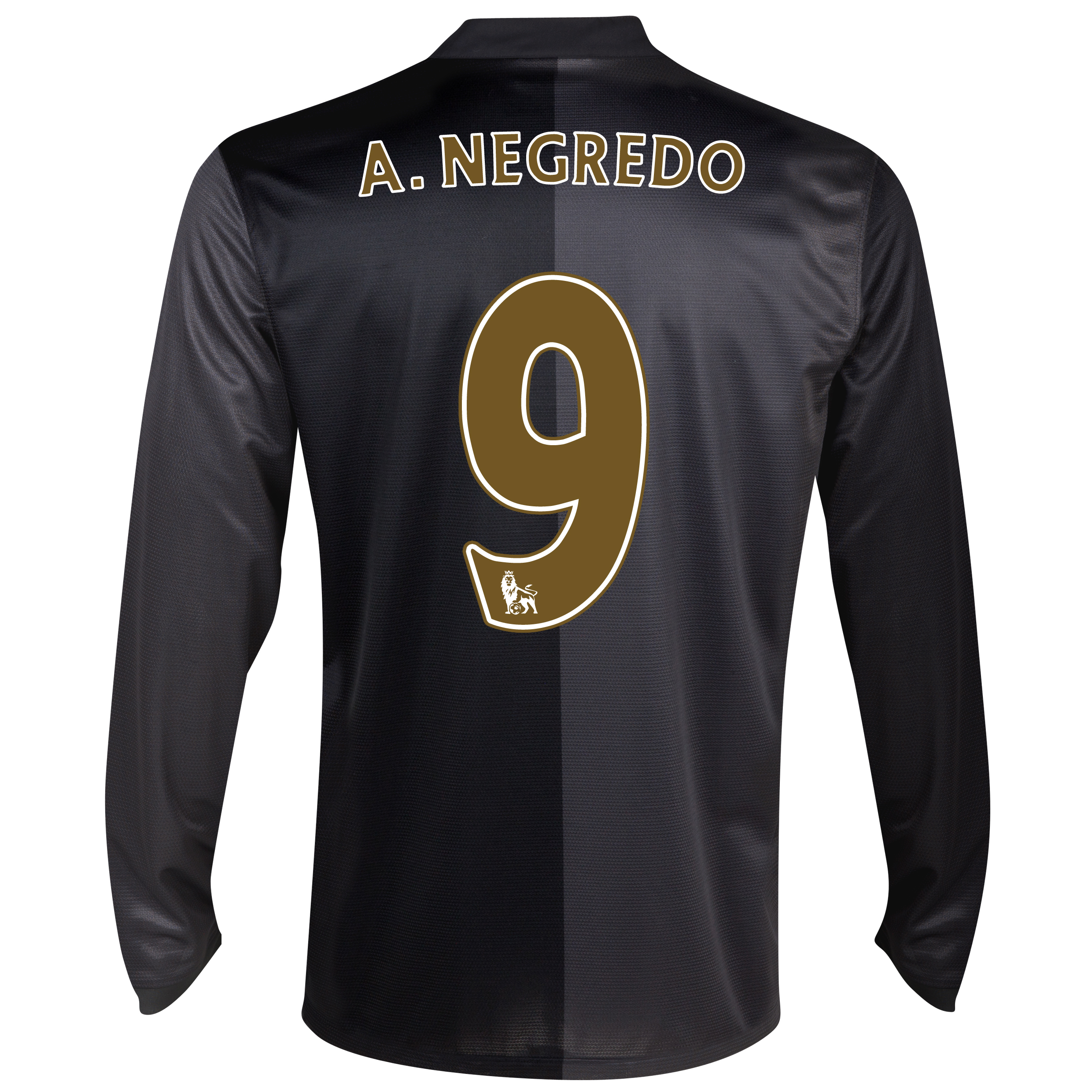 Manchester City Away Shirt 2013/14 - Long Sleeved with A.Negredo 9 printing