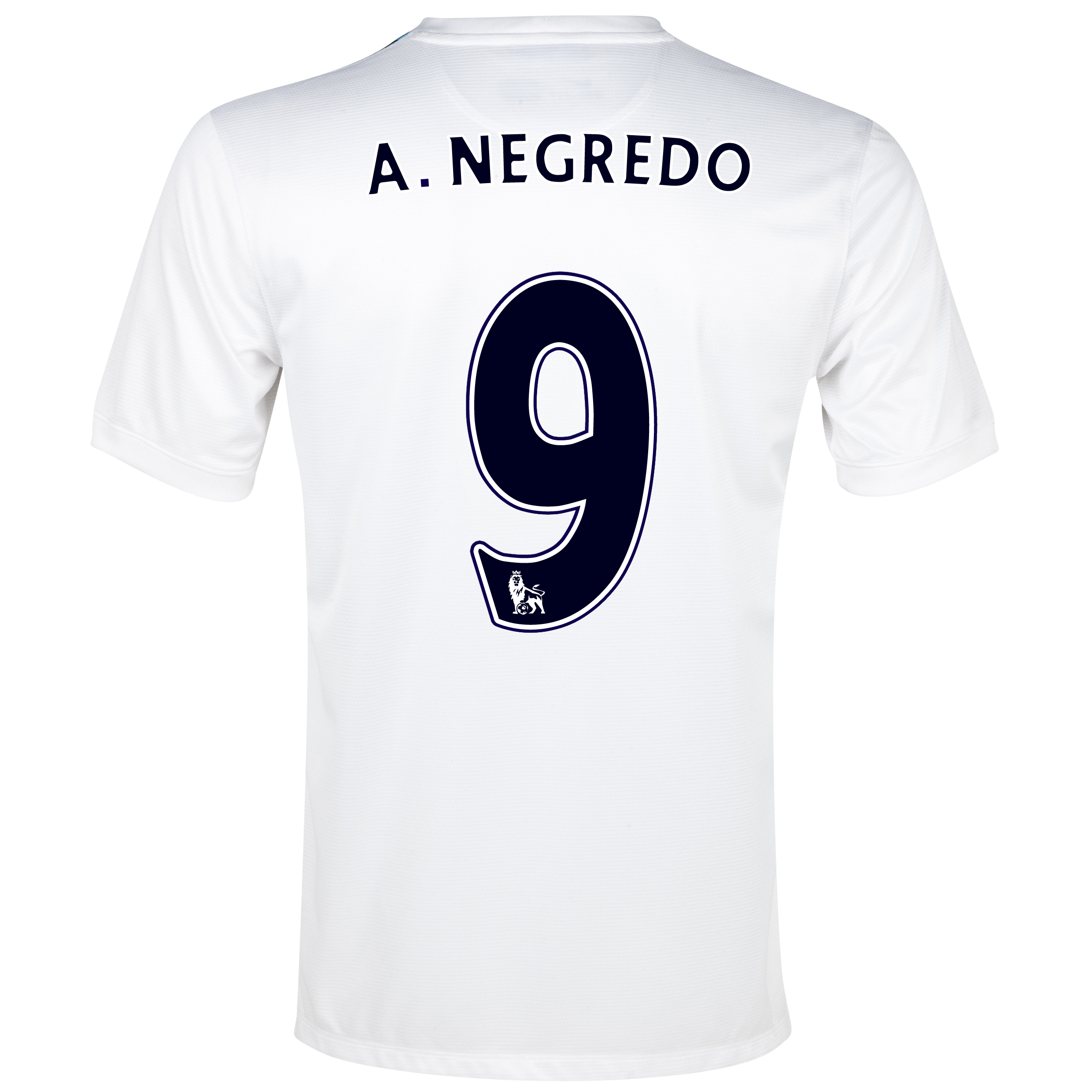 Manchester City Cup Away Shirt 2013/14 White with A.Negredo 9 printing