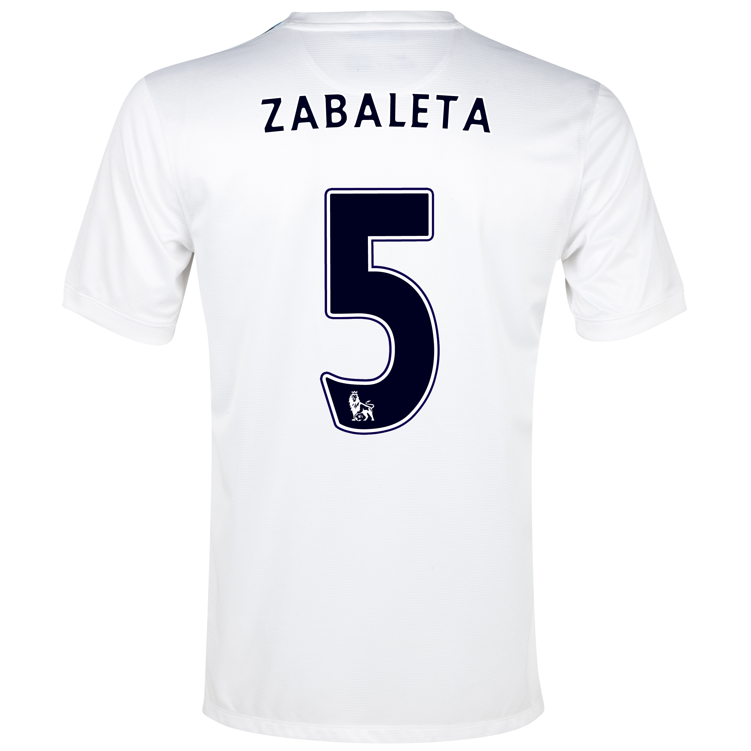 Manchester City Cup Away Shirt 2013/14  - Junior White with Zabaleta 5 printing