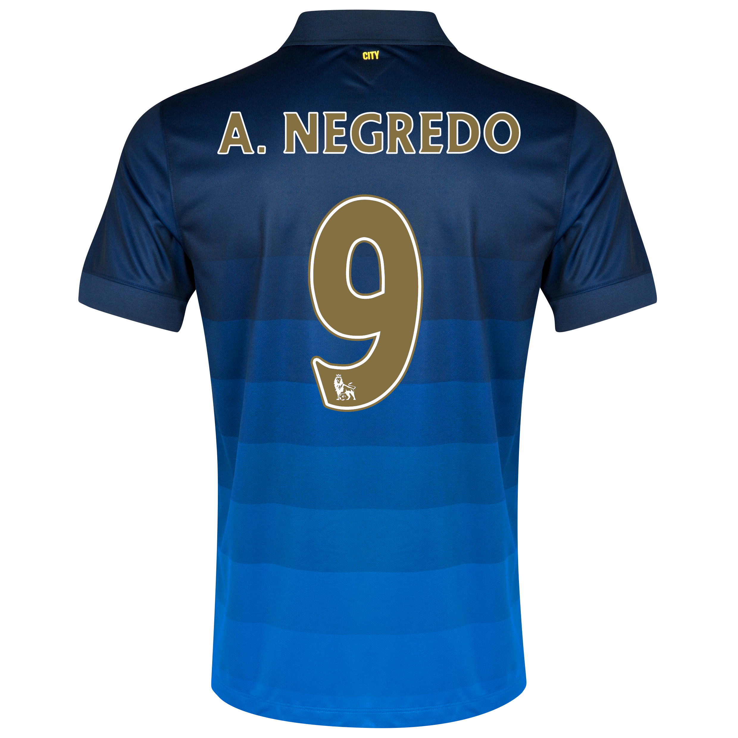 Manchester City Away Shirt 2014/15 - Kids with A.Negredo 9 printing