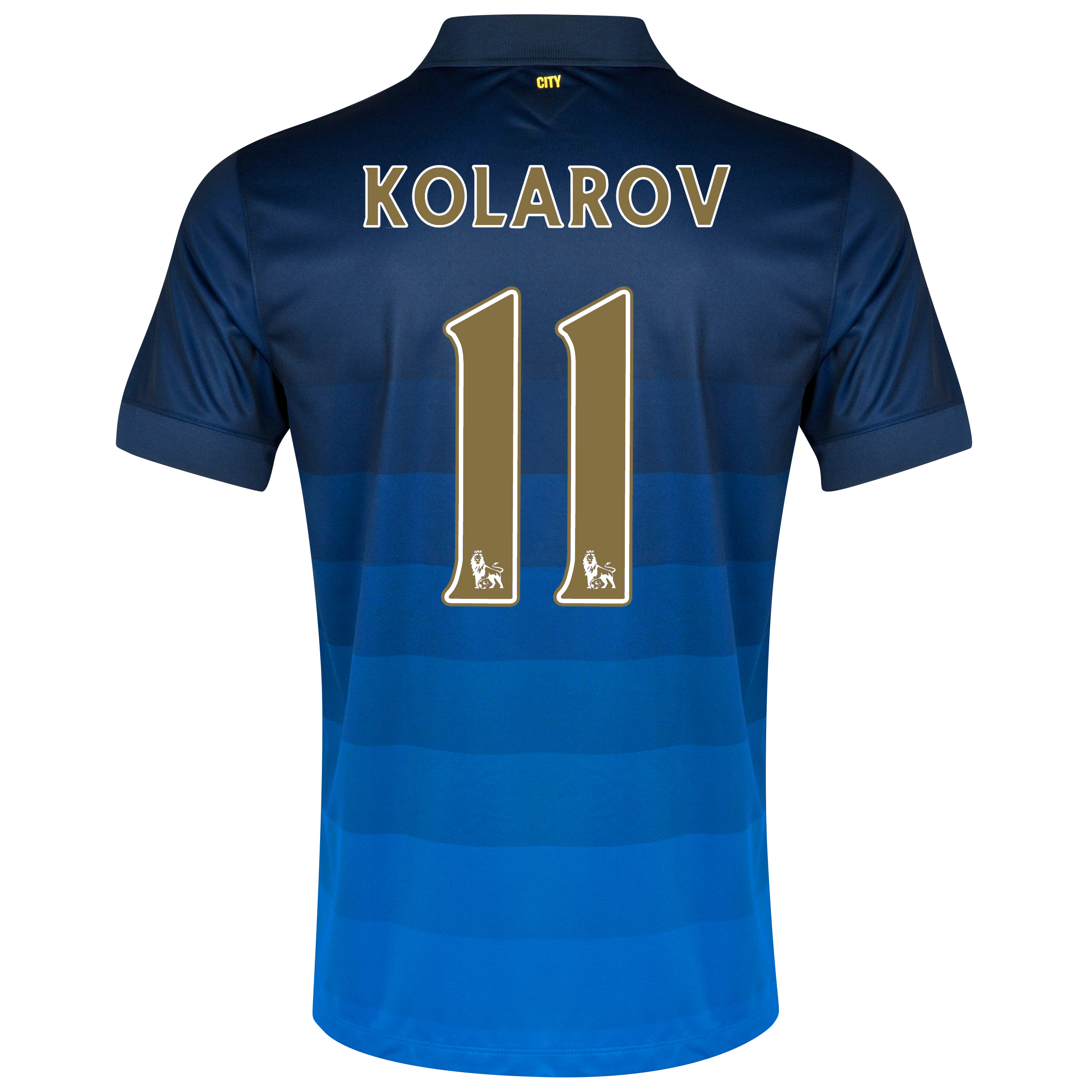 Manchester City Away Shirt 2014/15 - Kids with Kolarov 11 printing