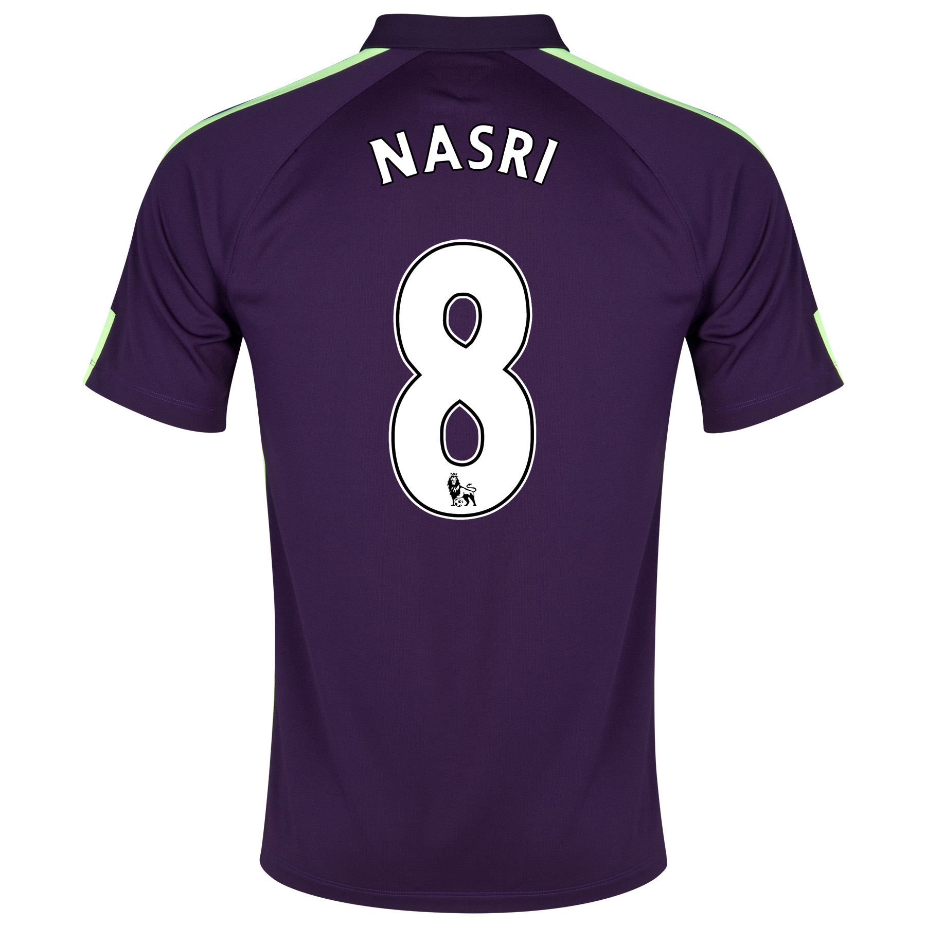 Manchester City Cup Away Shirt 2014/15 Purple with Nasri 8 printing
