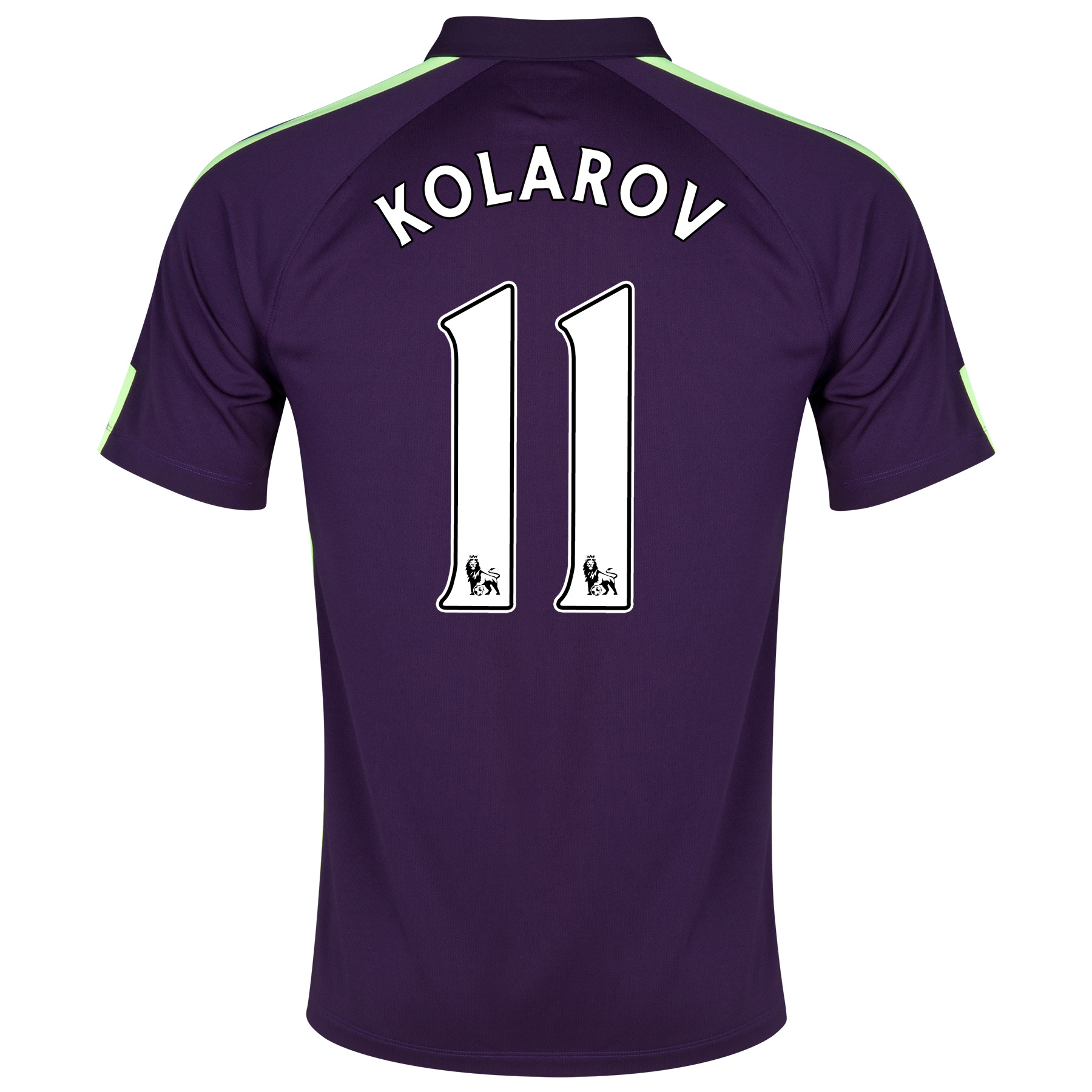 Manchester City Cup Away Shirt 2014/15 Purple with Kolarov 11 printing
