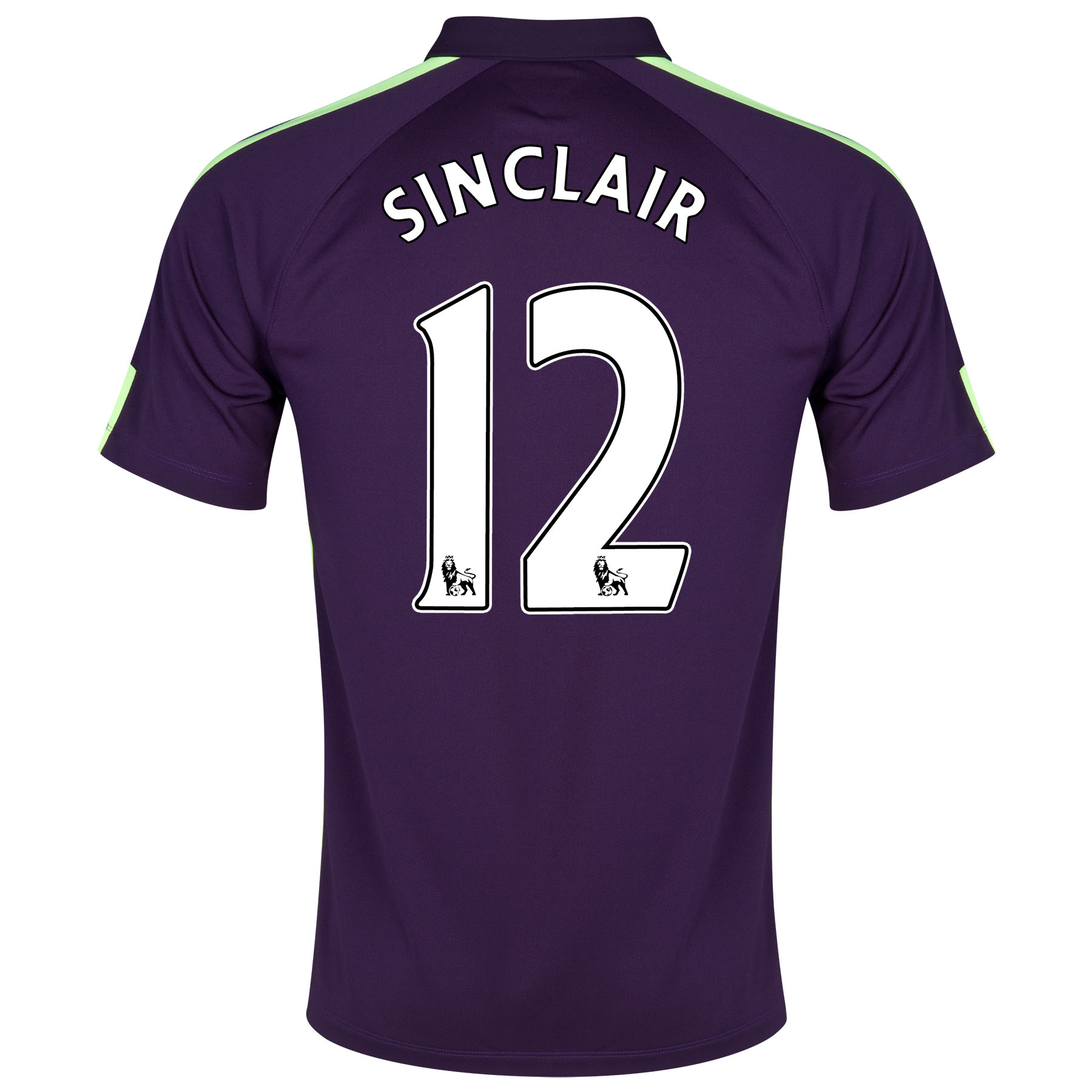 Manchester City Cup Away Kit 2014/15 - Little Boys Purple with Sinclair 12 printing