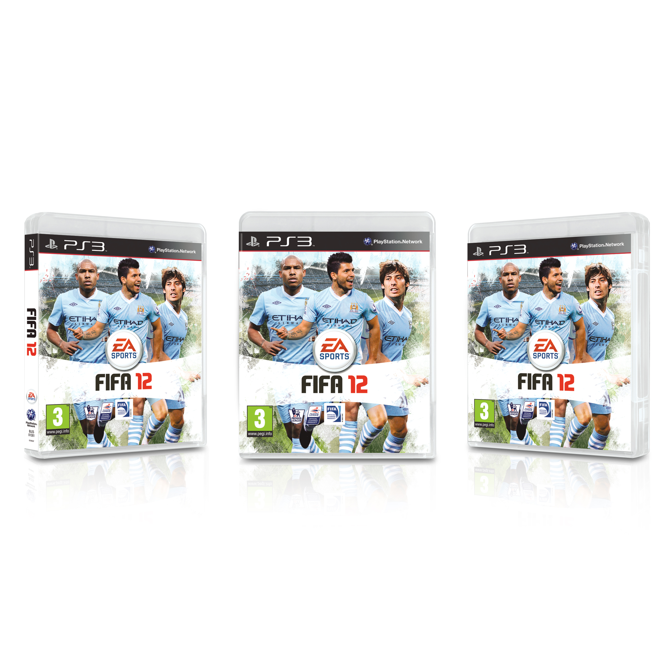 Manchester City FIFA 12 PS3
