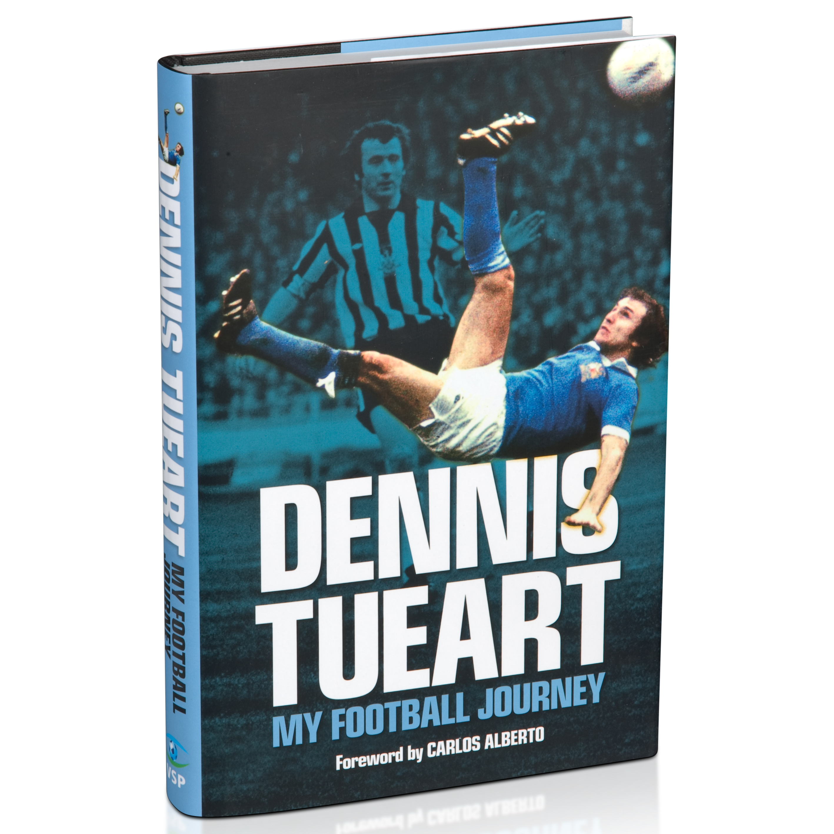 Manchester City Dennis Tueart - My Football Journey Hardback Book