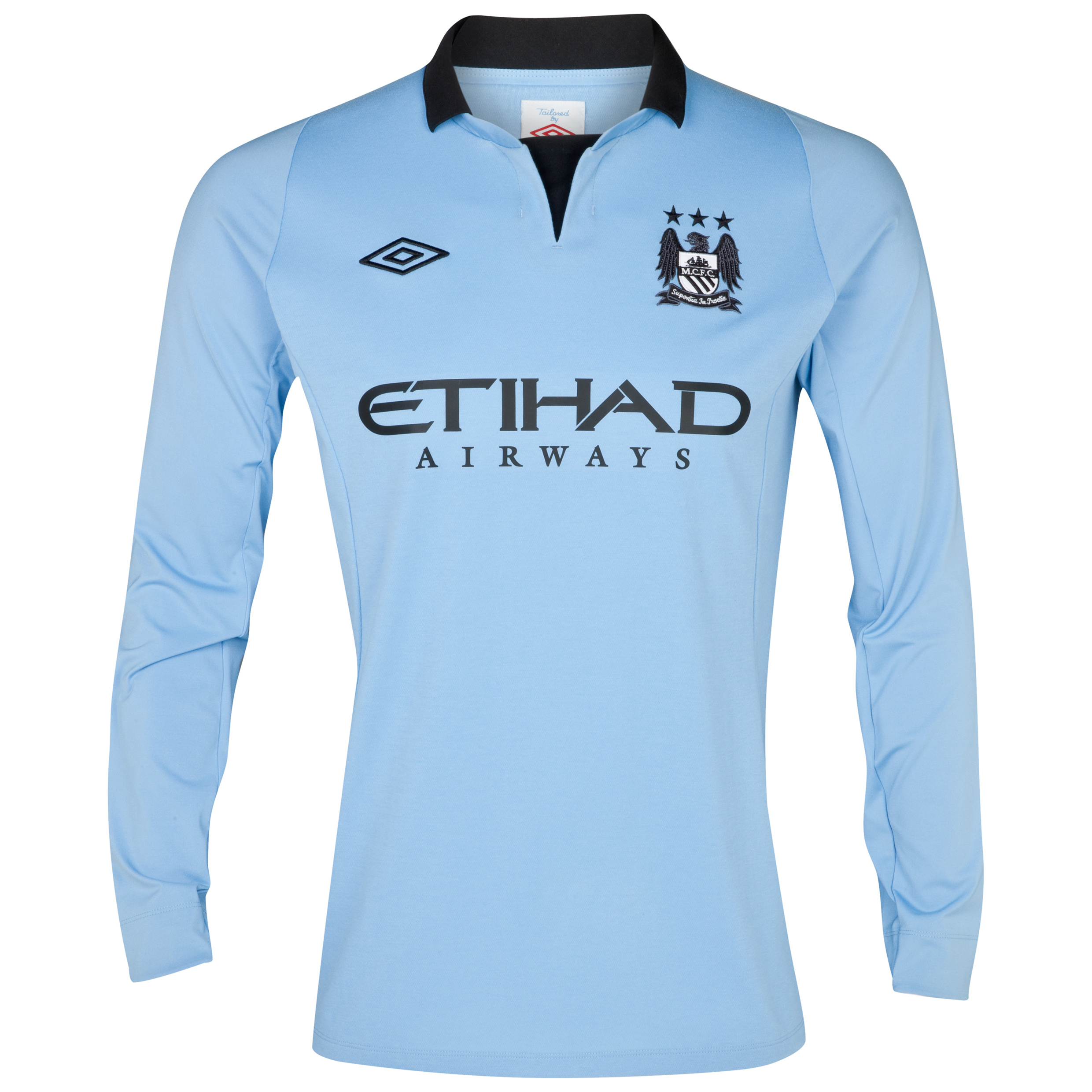 Manchester City Home Shirt 2012/13 Long Sleeved