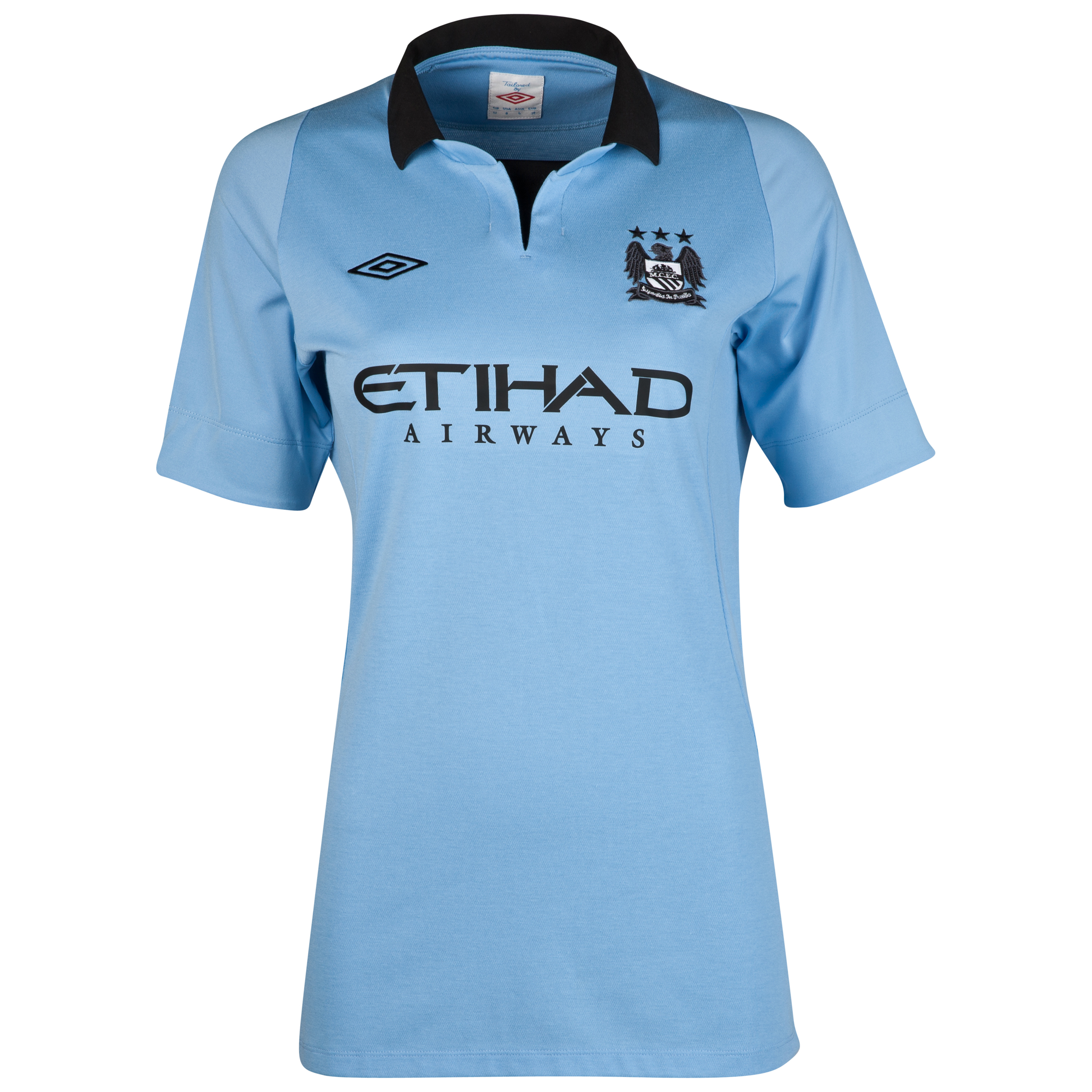 Manchester City Home Shirt 2012/13 - Womens