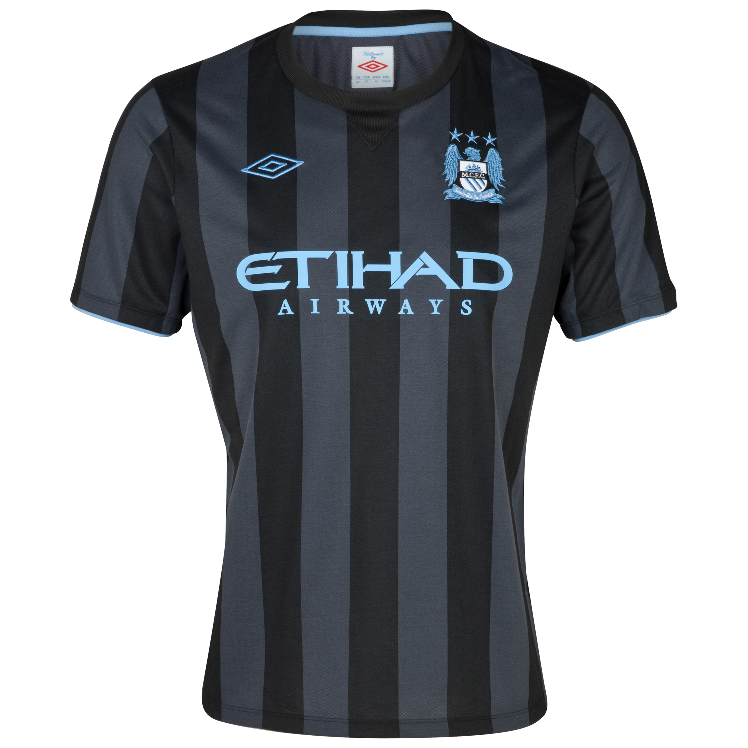 Manchester City Third Shirt 2012/13