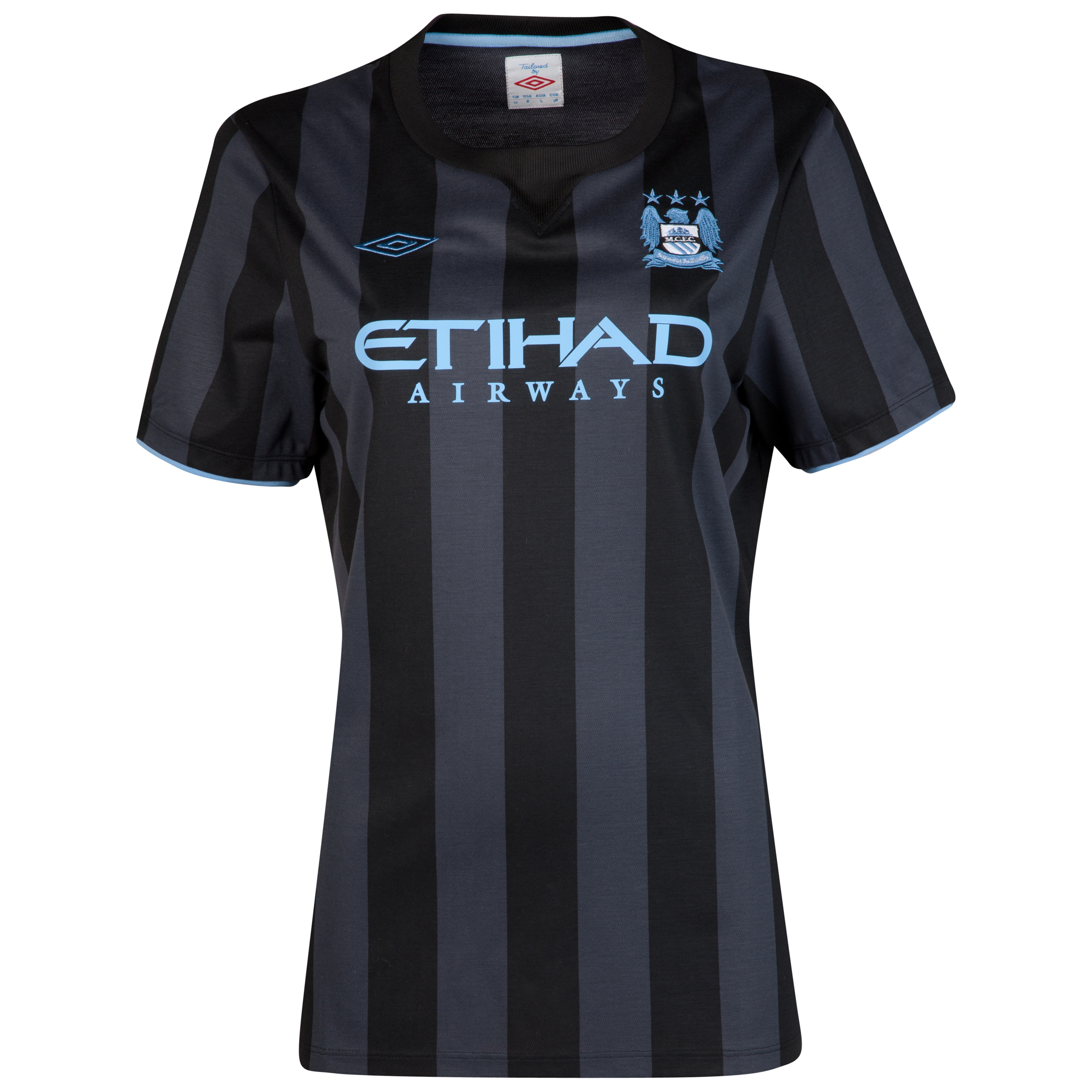 Manchester City Third Shirt 2012/13 - Womens