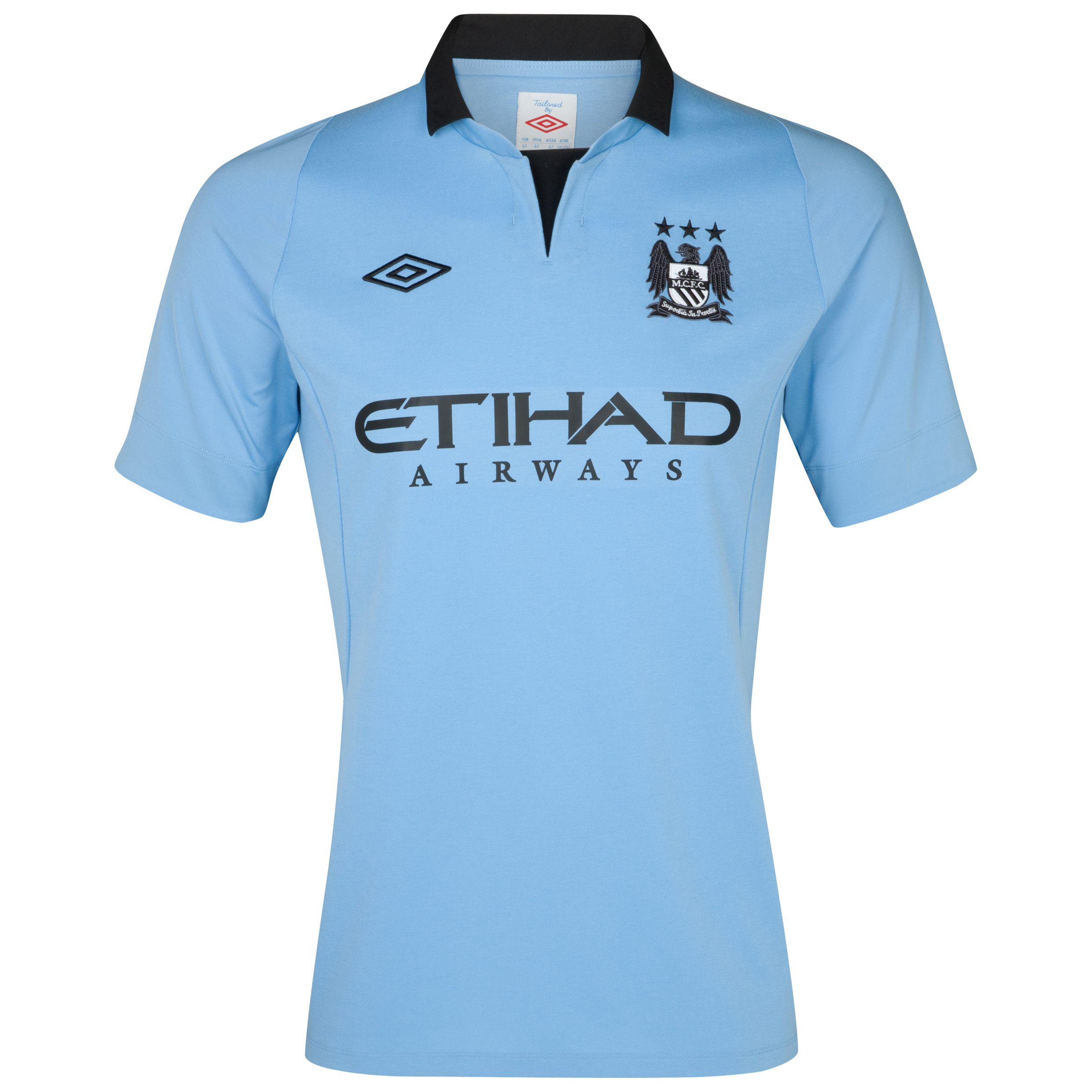 Manchester City Home Shirt 2012/13 - Junior