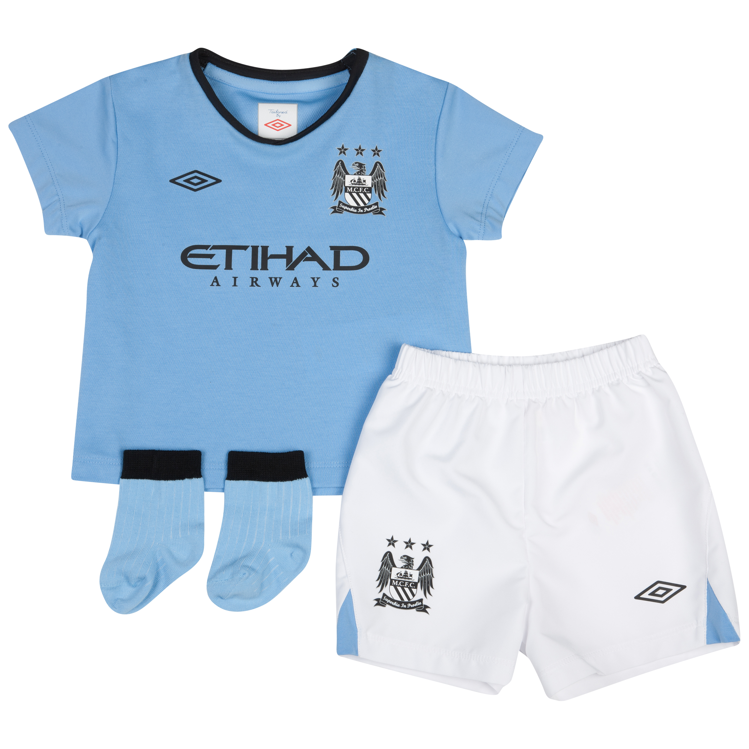 Manchester City Home Baby Kit 2012/13