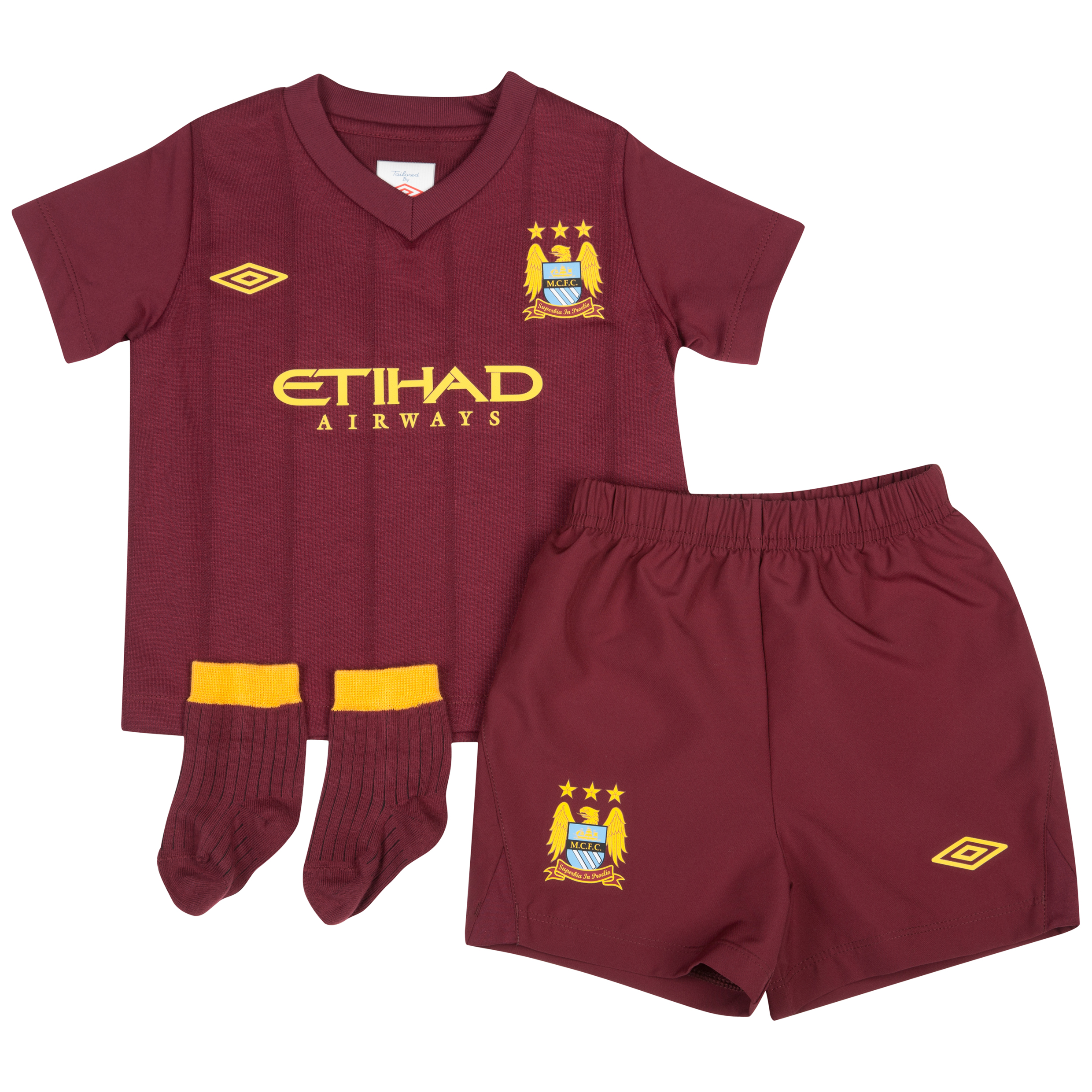 Manchester City Away Baby Kit 2012/13