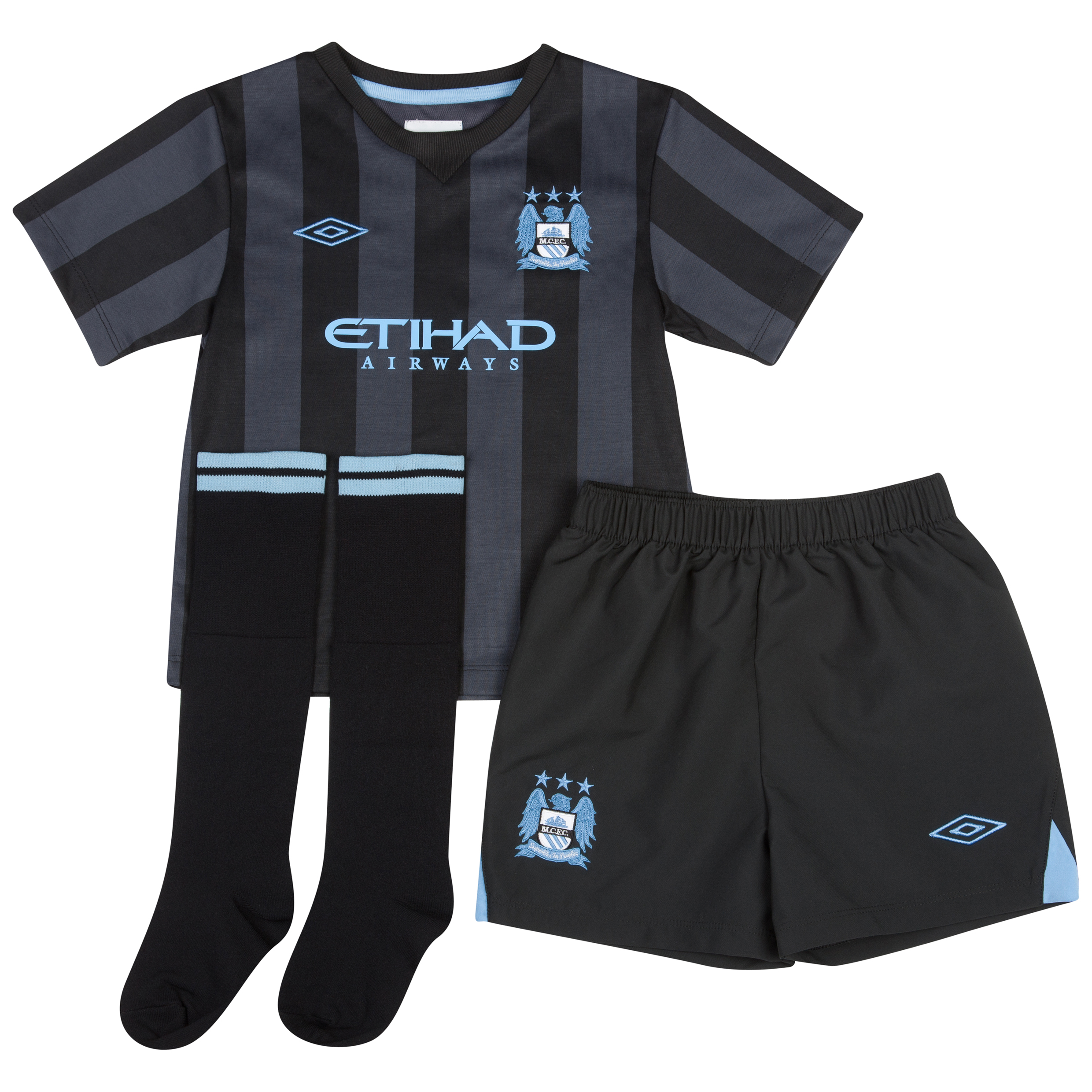 Manchester City Third Infant Kit 2012/13